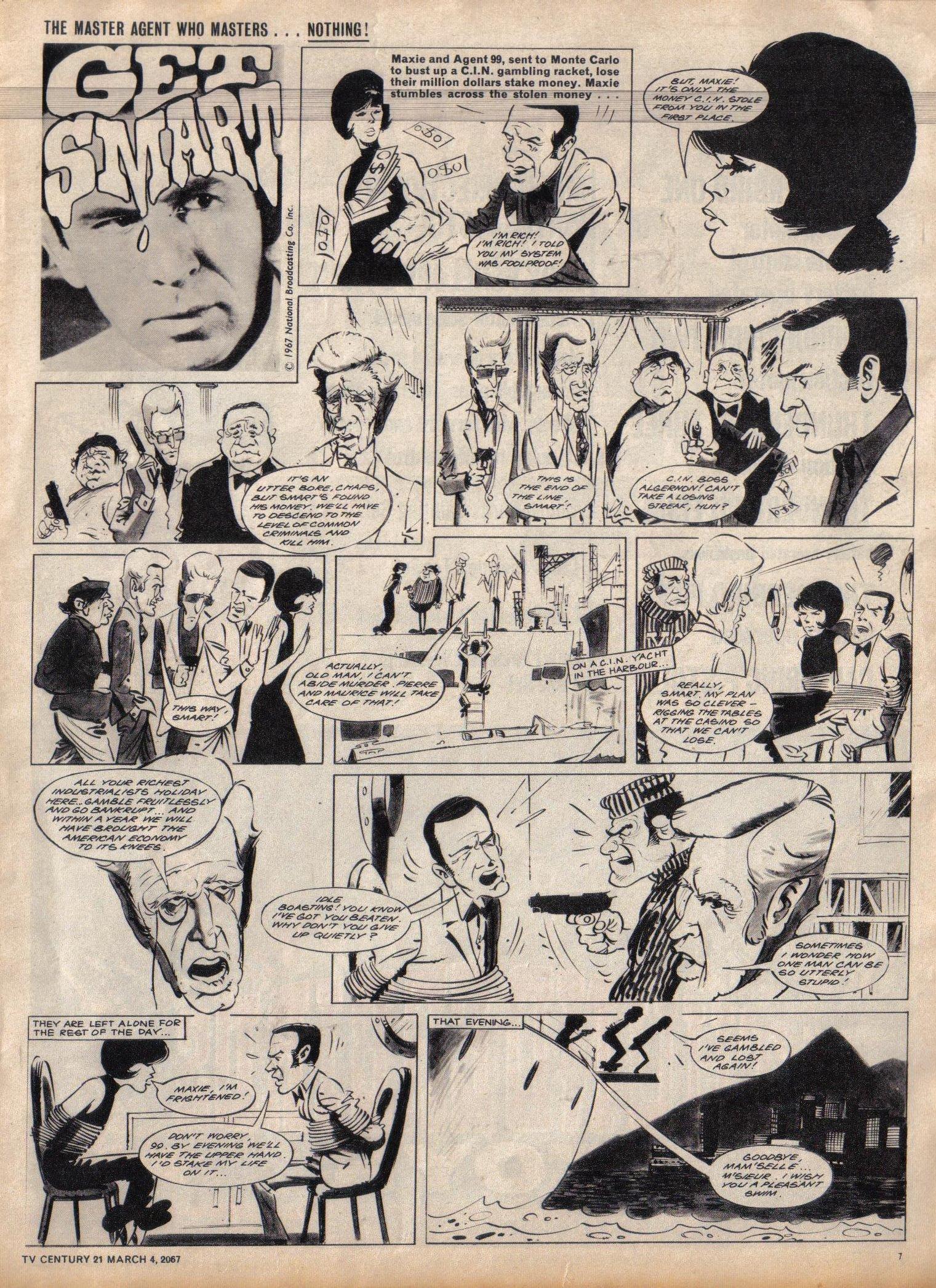 Read online TV Century 21 (TV 21) comic -  Issue #111 - 7
