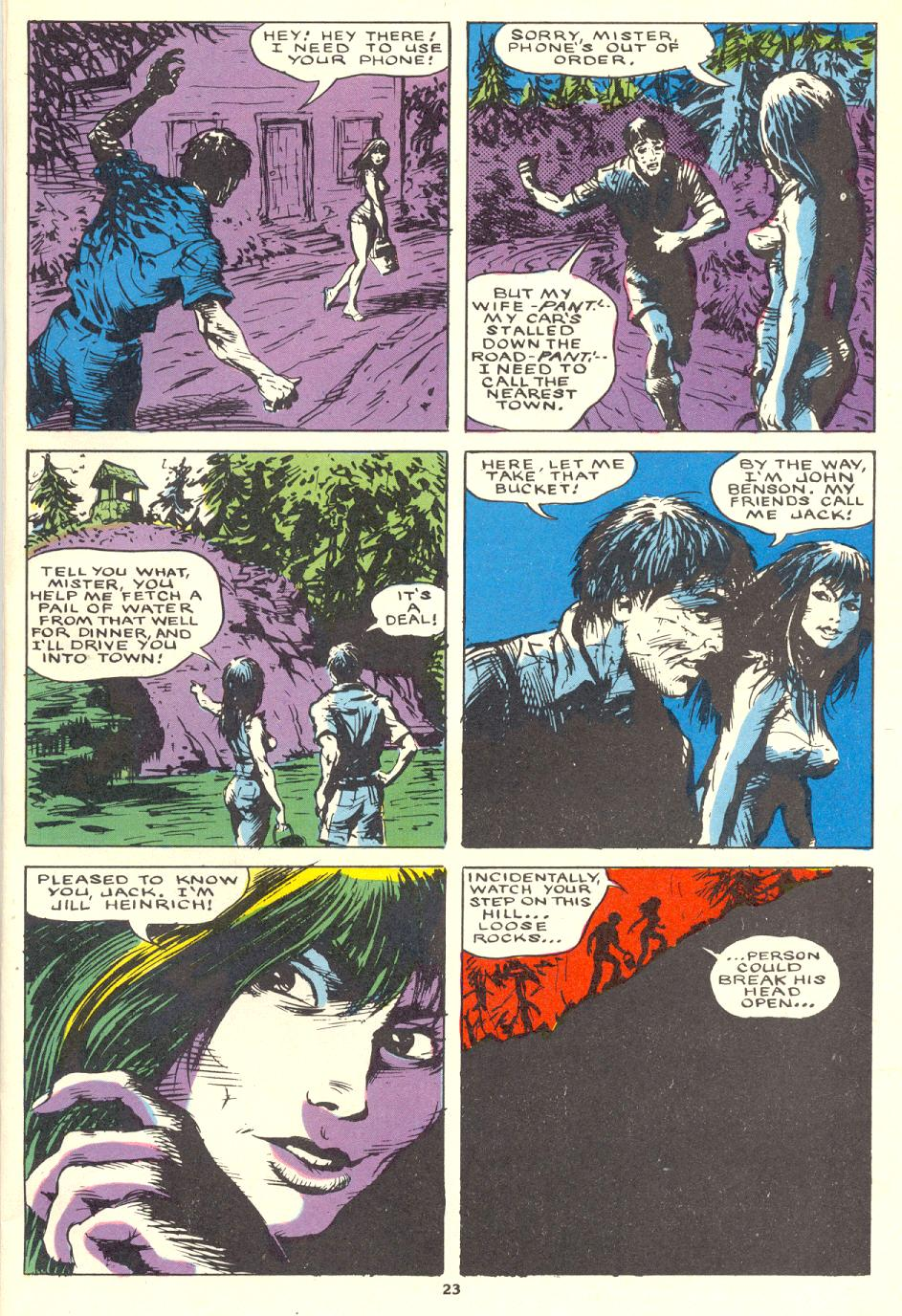 Read online Twisted Tales (1982) comic -  Issue #1 - 24