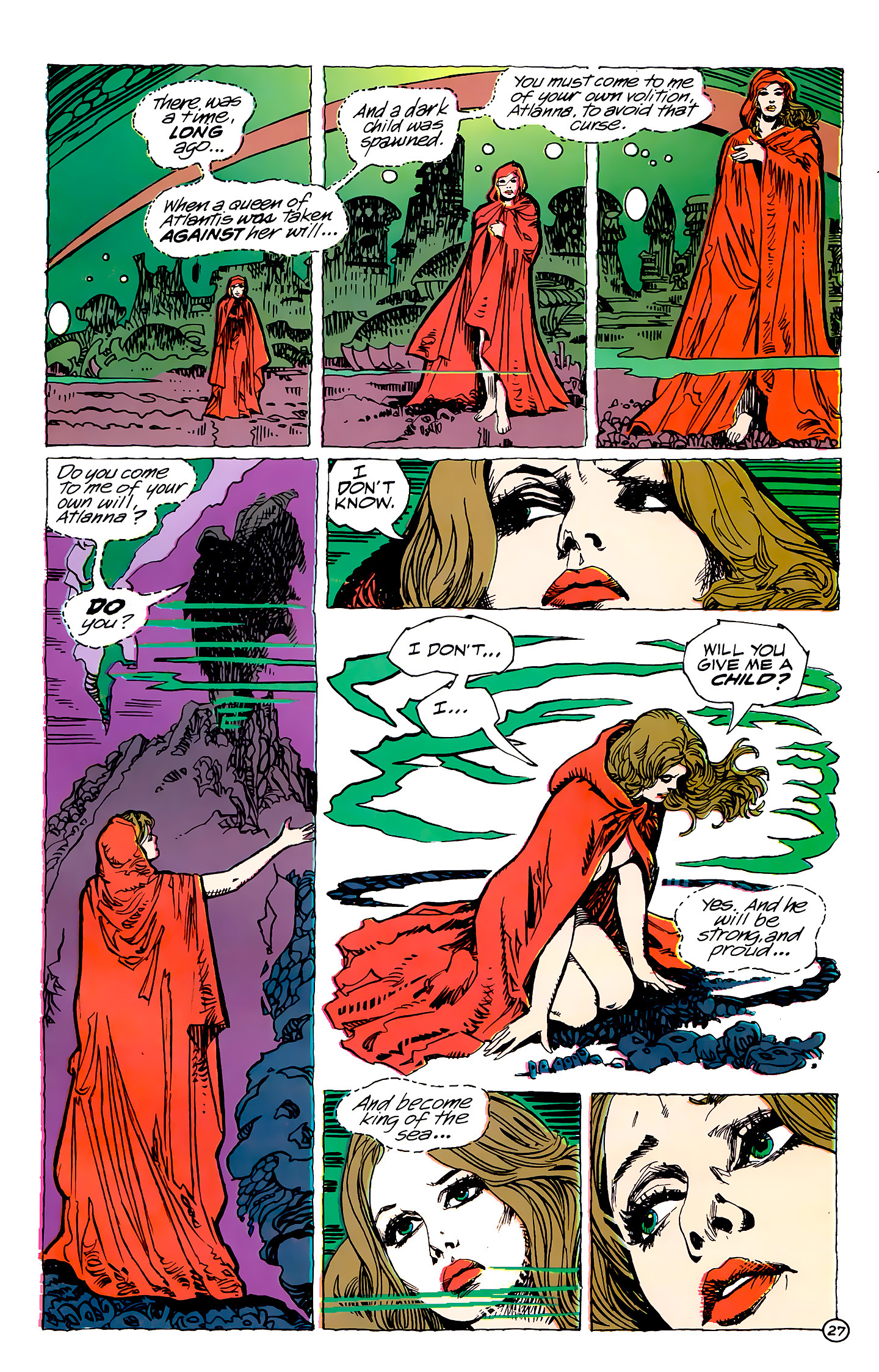Read online Atlantis Chronicles comic -  Issue #7 - 28
