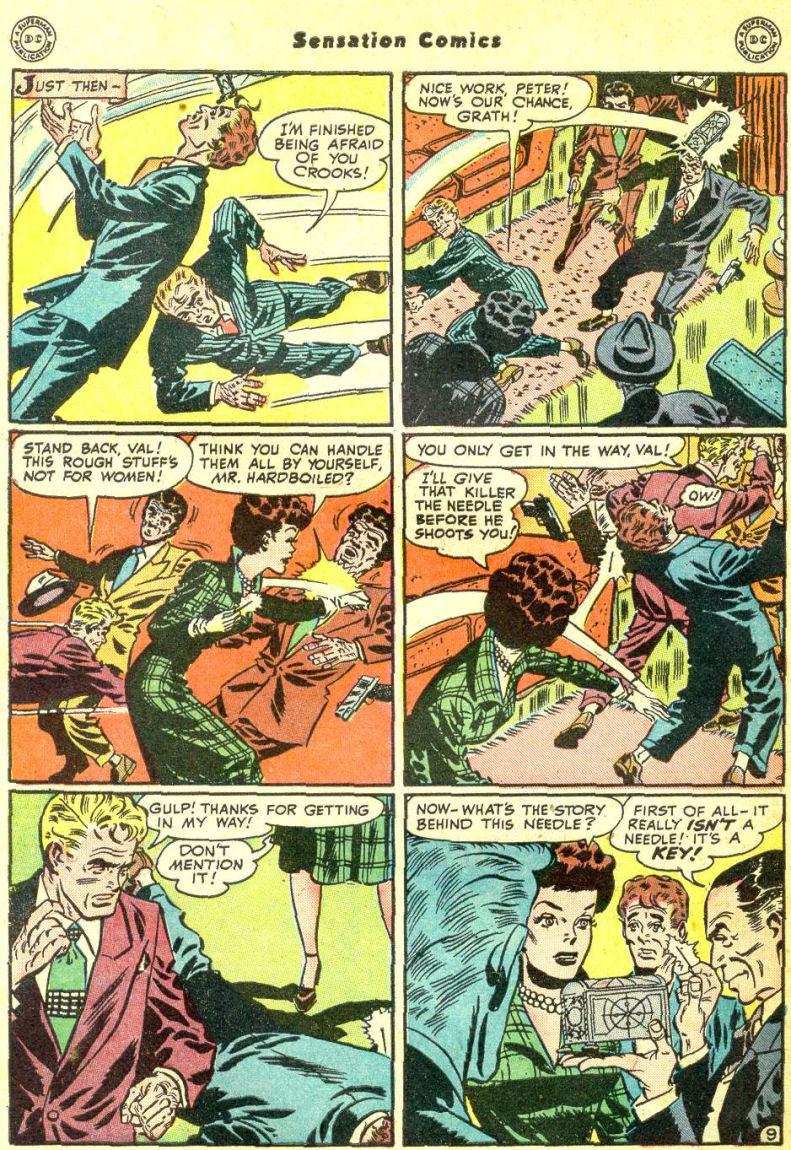 Read online Sensation (Mystery) Comics comic -  Issue #87 - 48