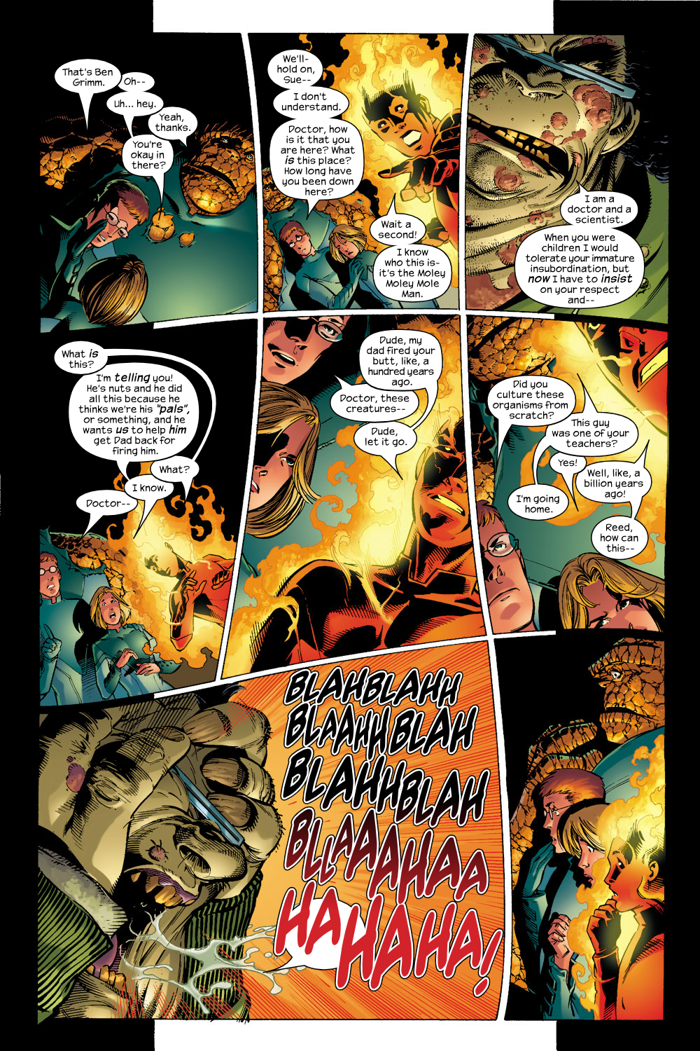 Read online Ultimate Fantastic Four (2004) comic -  Issue #6 - 6