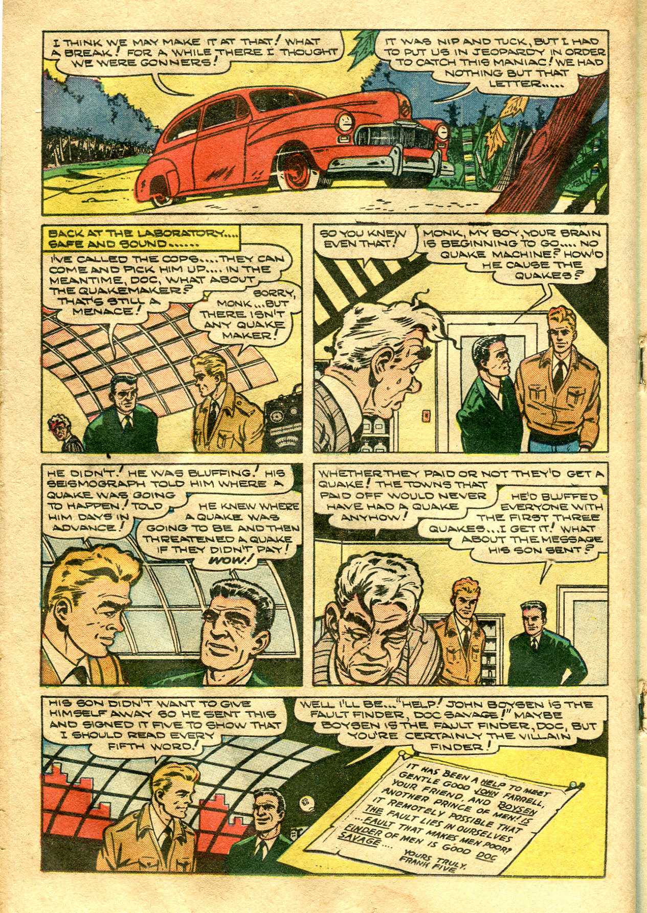 Read online Shadow Comics comic -  Issue #99 - 28