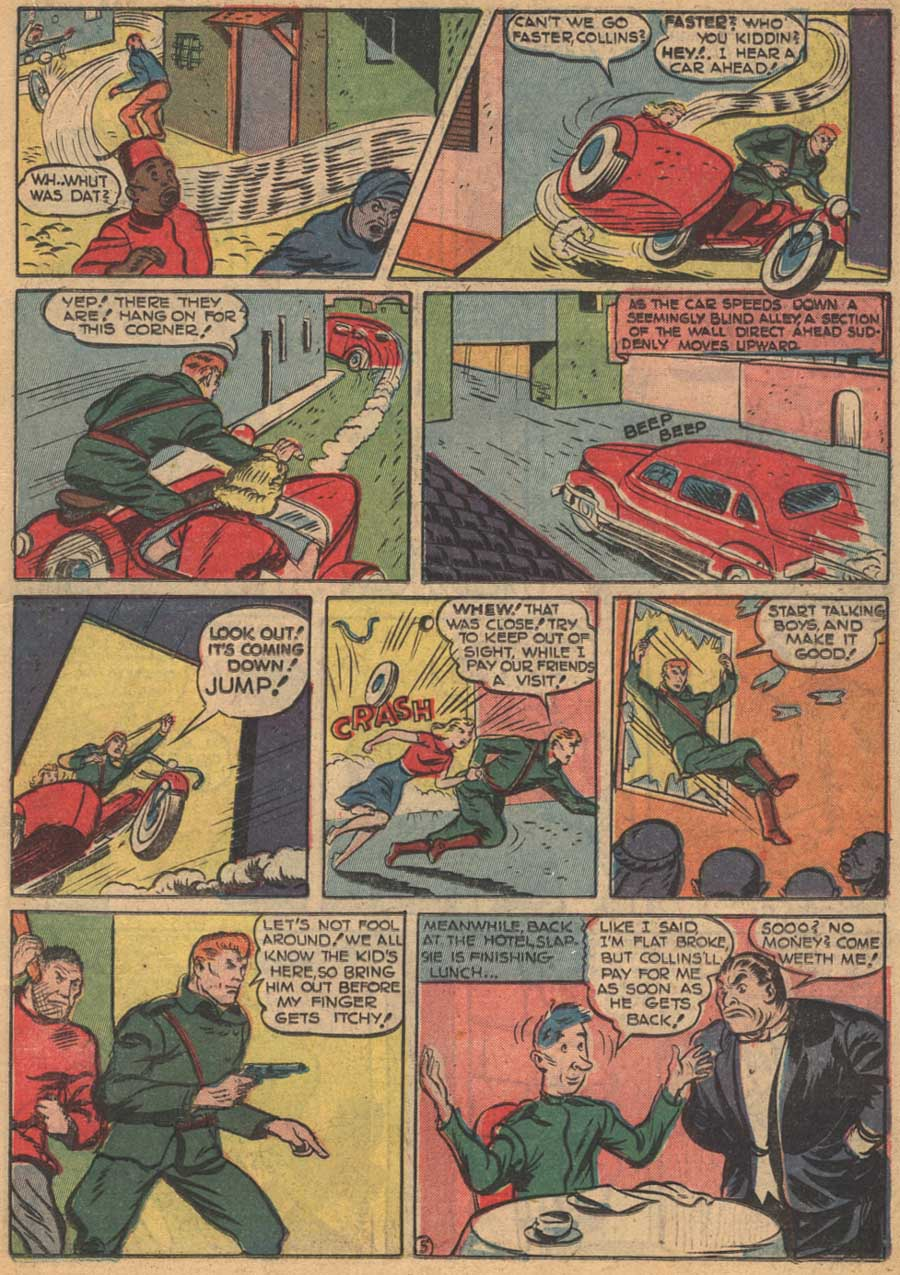 Blue Ribbon Comics (1939) issue 16 - Page 35