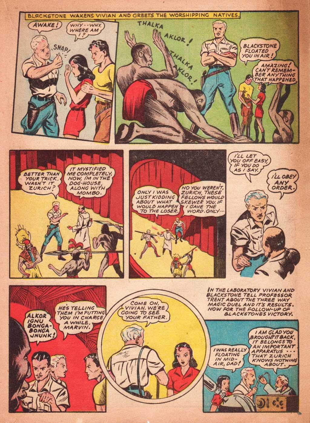 Read online Super-Magician Comics comic -  Issue #2 - 31