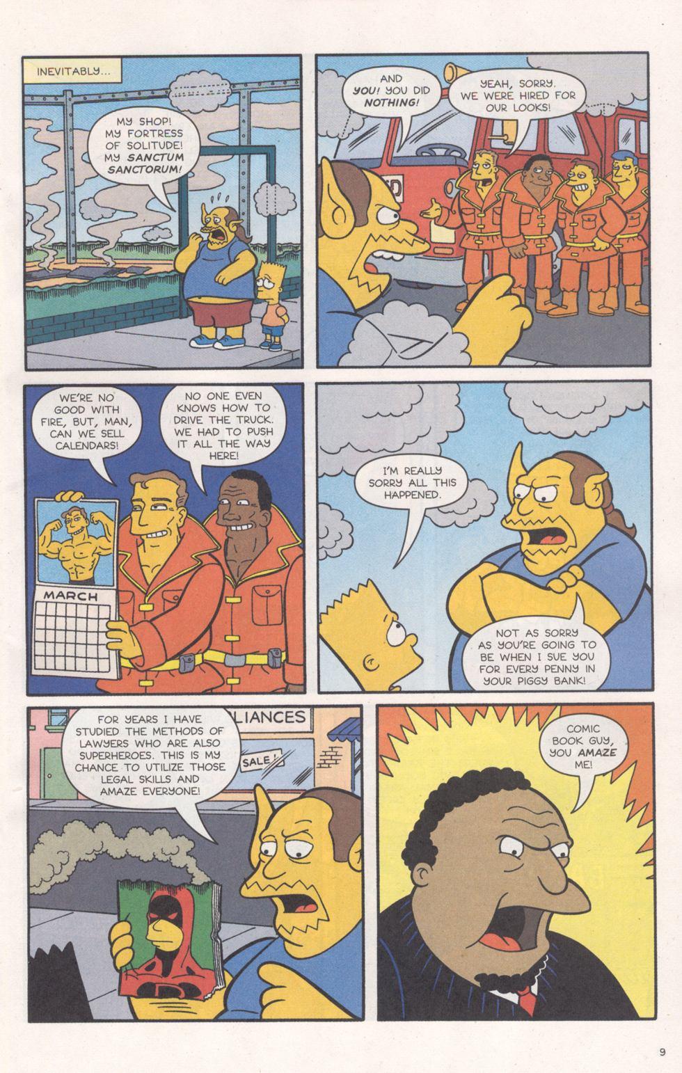 Read online Simpsons Comics comic -  Issue #93 - 10