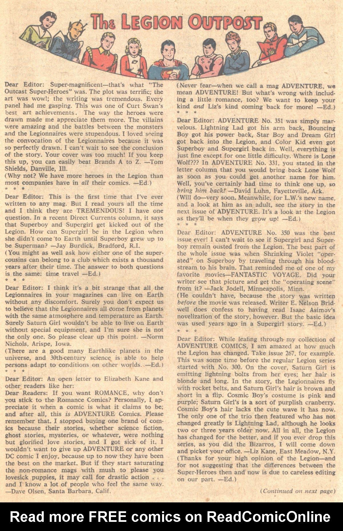 Read online Adventure Comics (1938) comic -  Issue #353 - 17