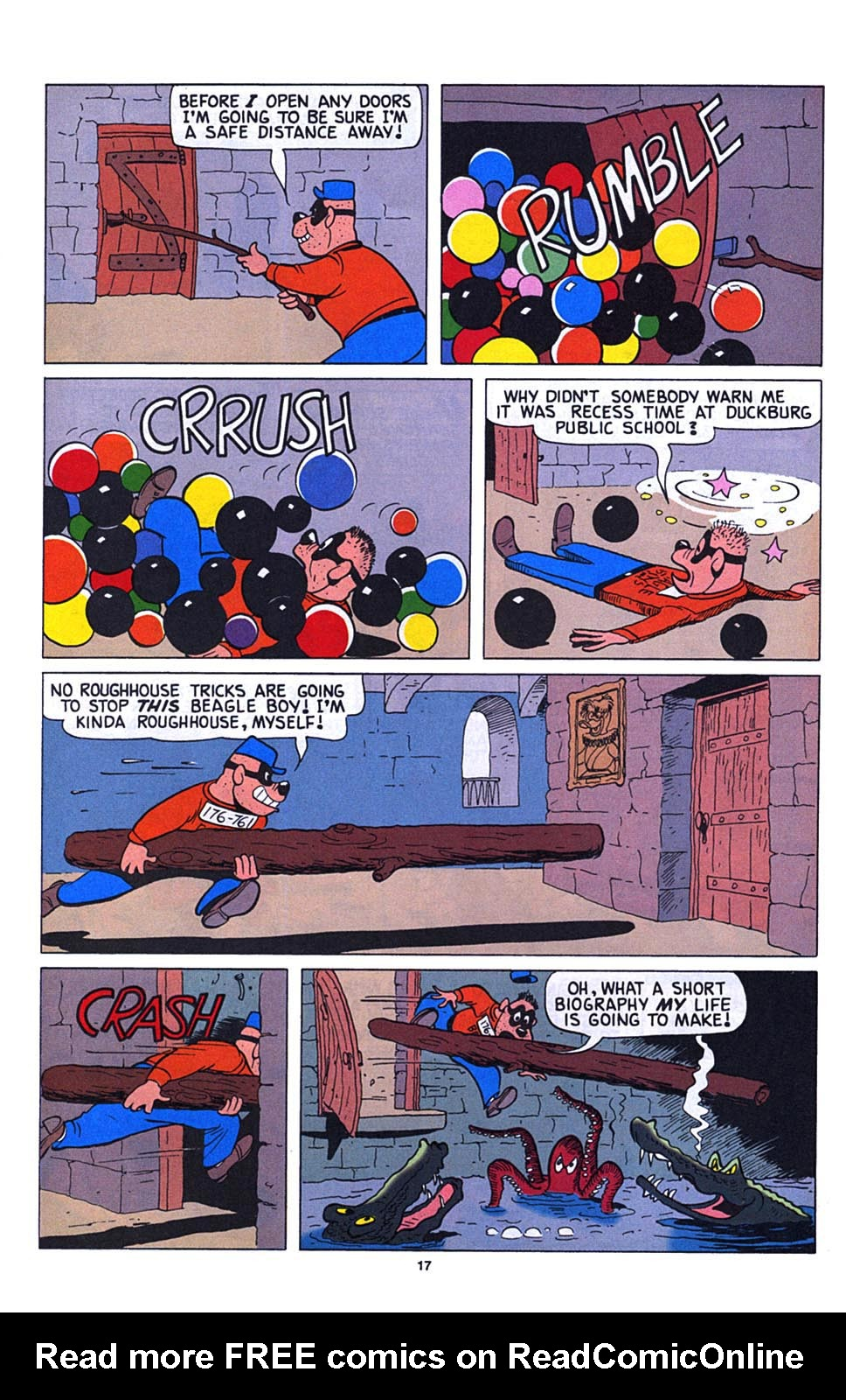 Read online Uncle Scrooge (1953) comic -  Issue #273 - 18