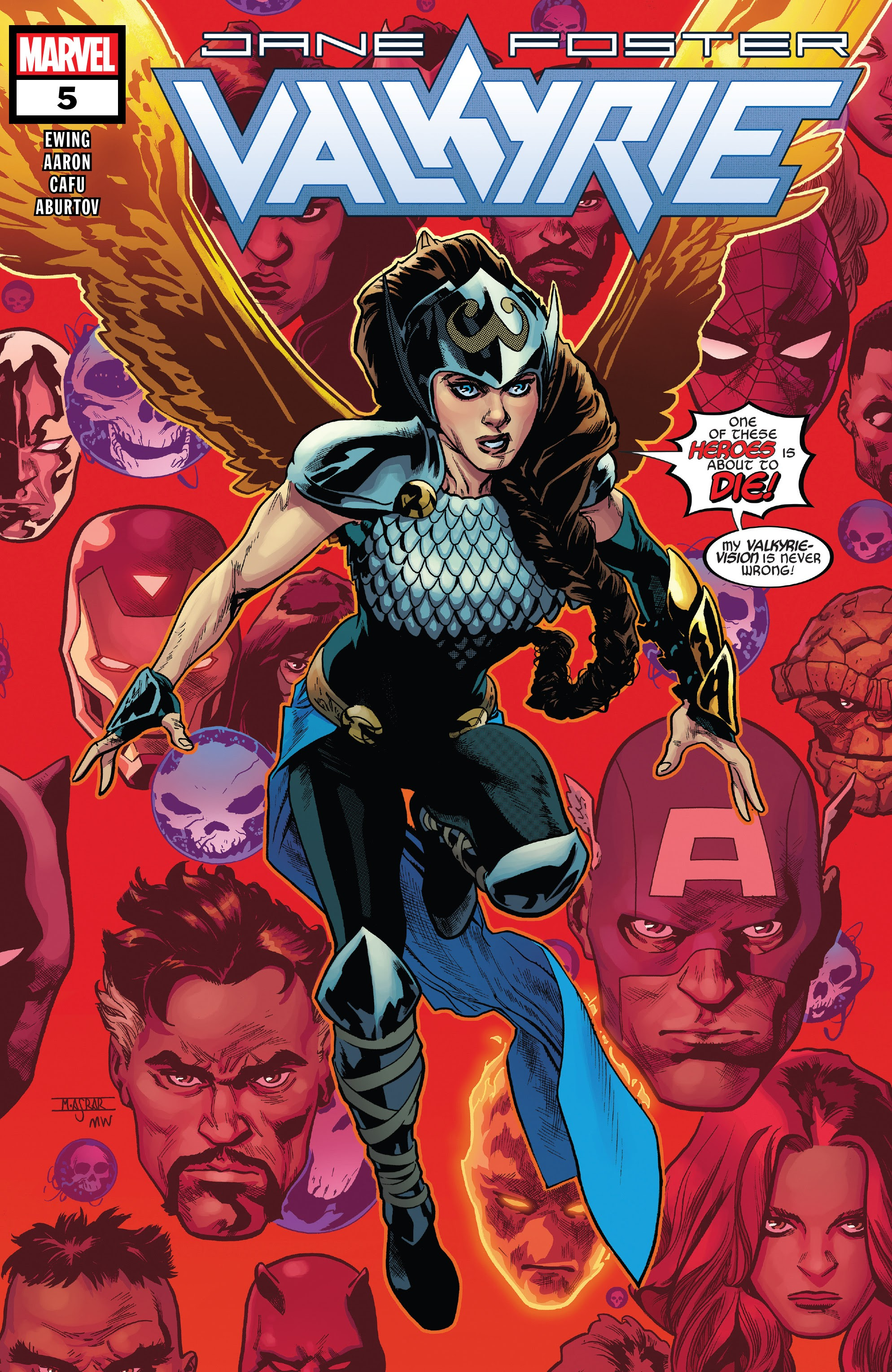 Valkyrie: Jane Foster 5 Page 1