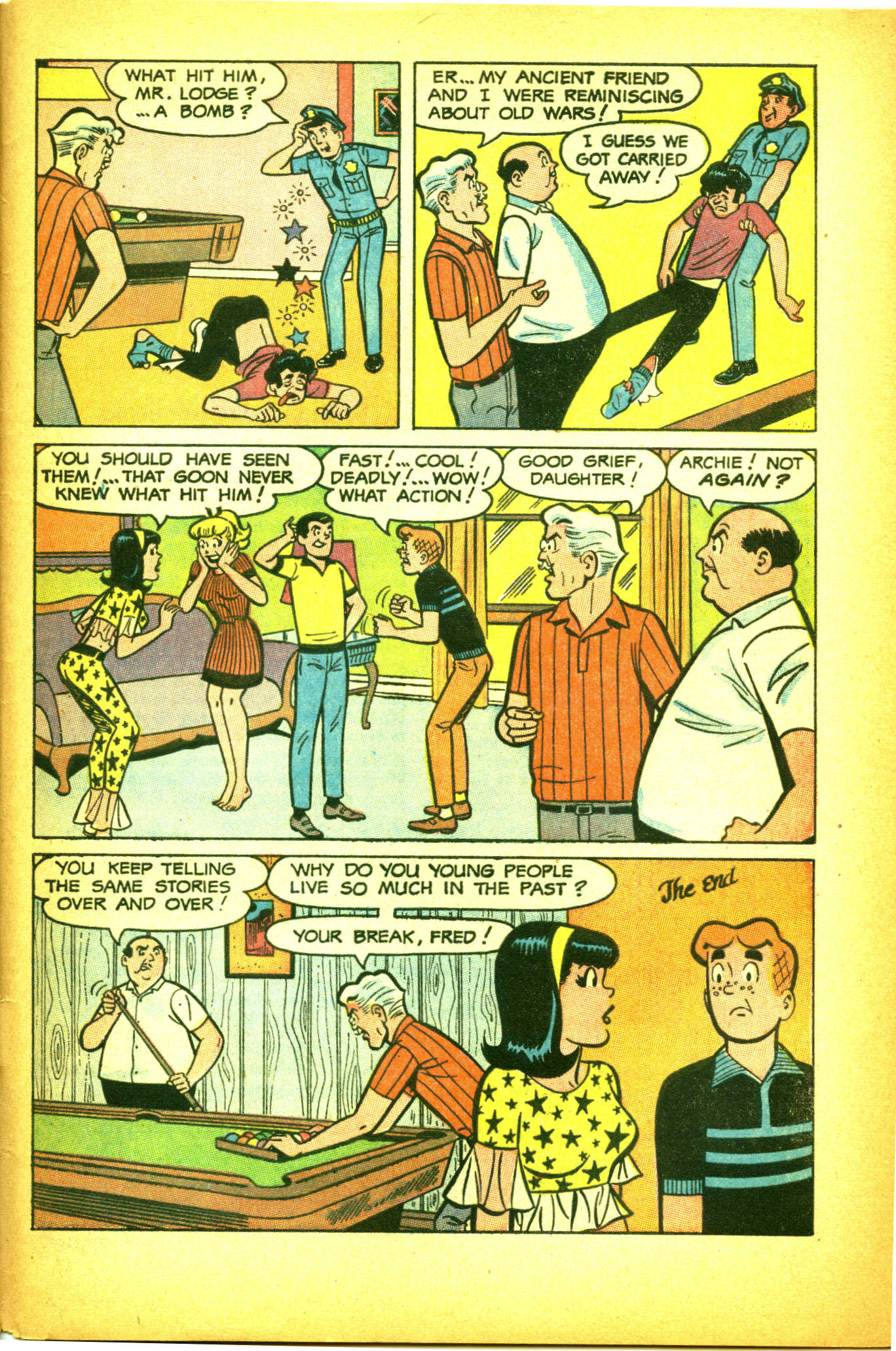 Read online Archie (1960) comic -  Issue #175 - 32