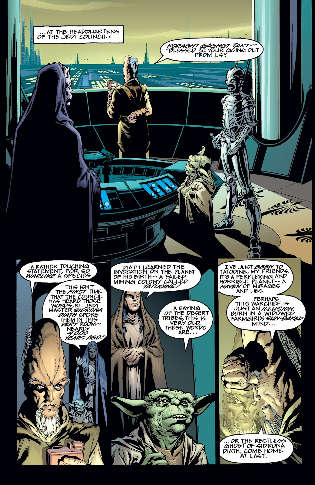 Read online Star Wars Legends Epic Collection: The Menace Revealed comic -  Issue # TPB (Part 2) - 13