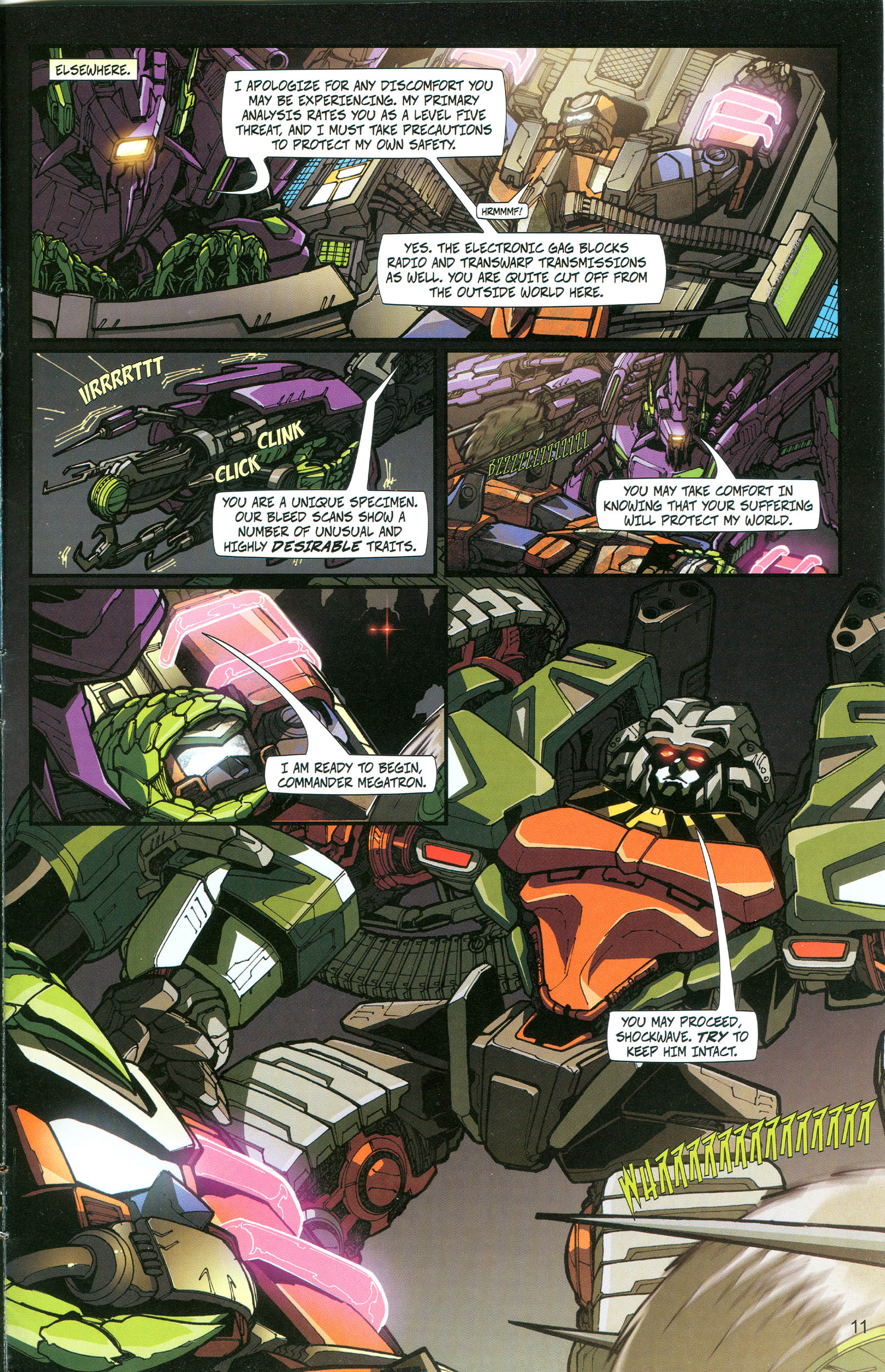 Read online Transformers: Collectors' Club comic -  Issue #20 - 11