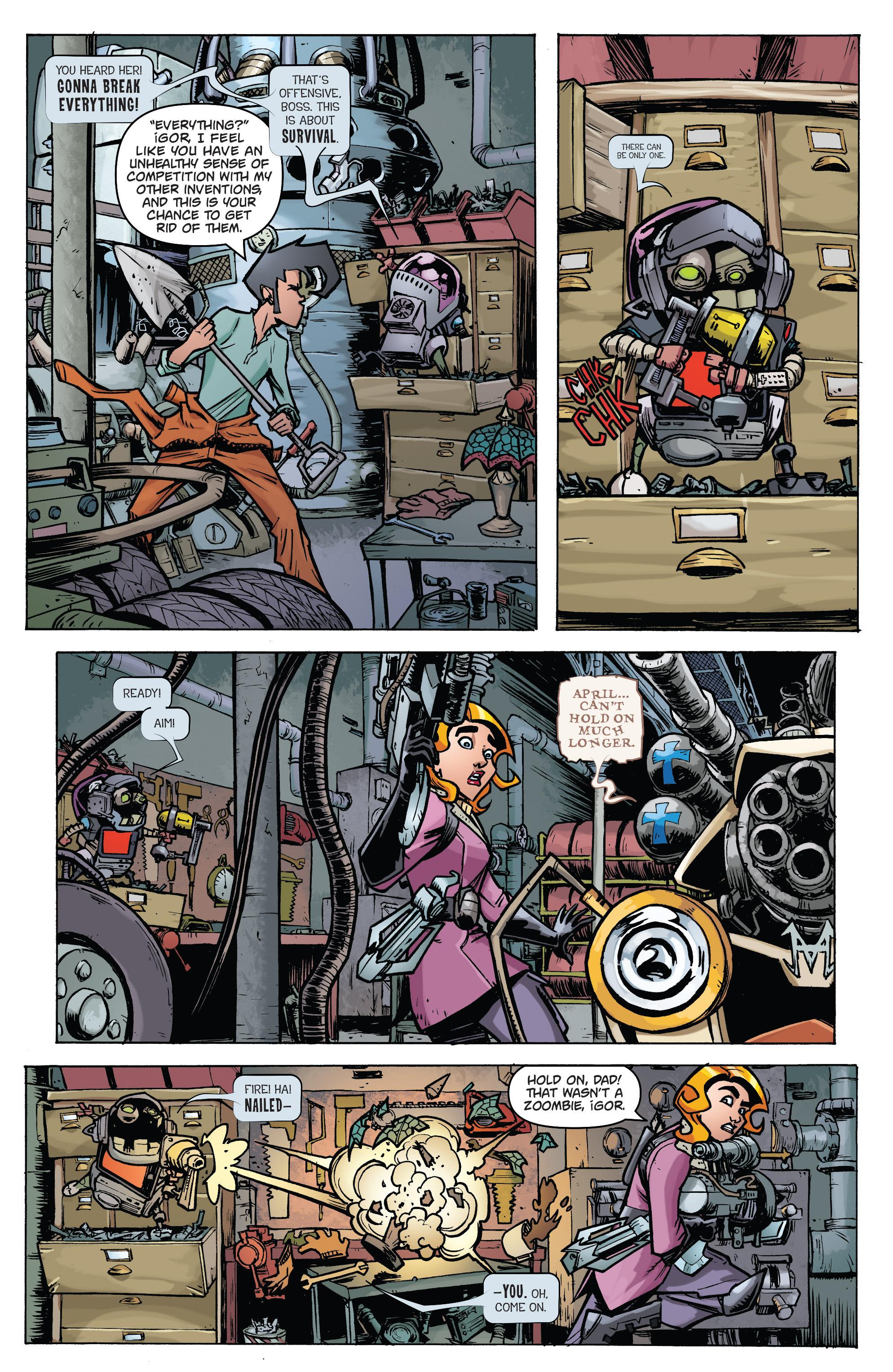 Read online Monster Motors: The Curse of Minivan Helsing comic -  Issue #2 - 7