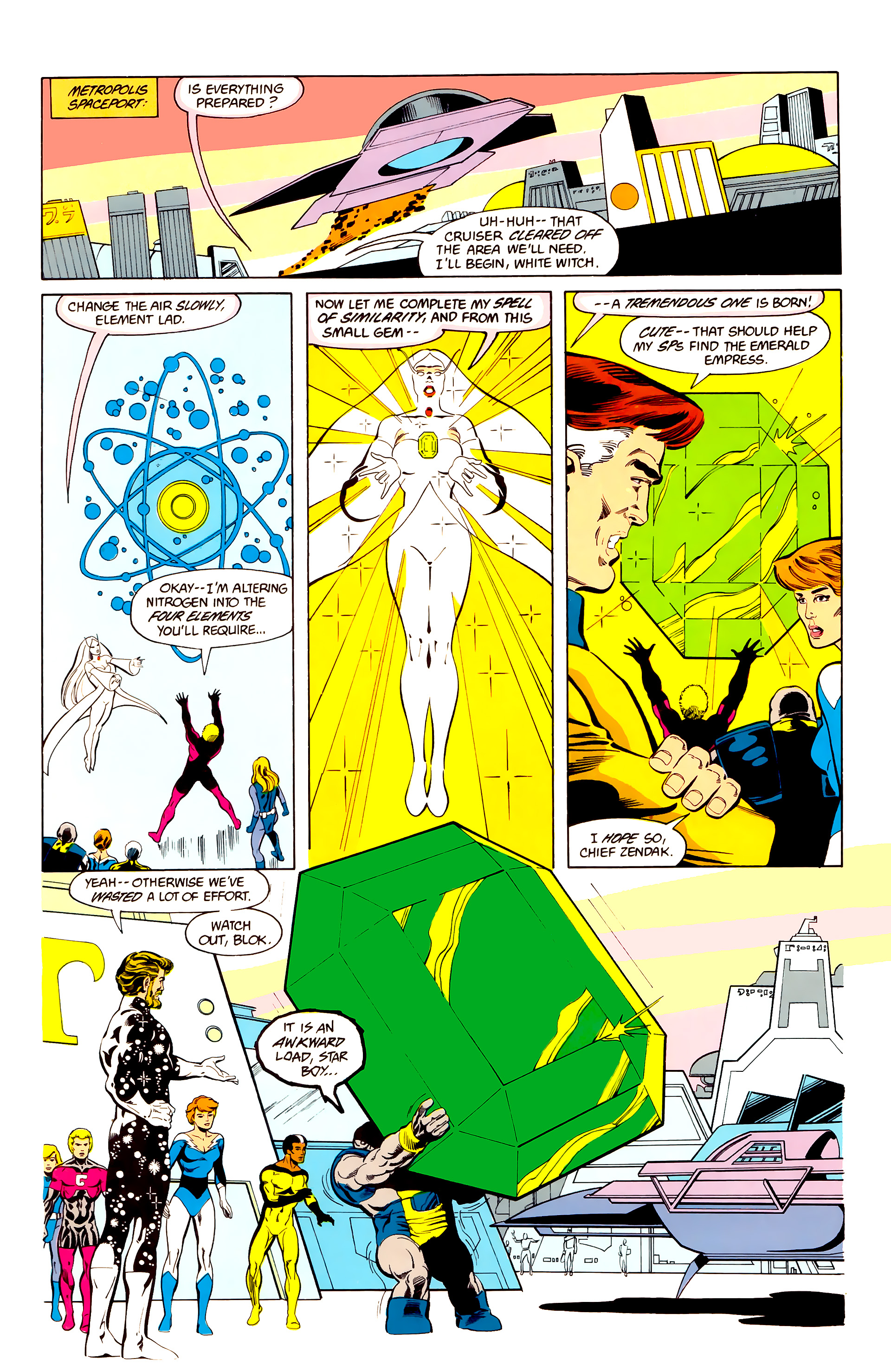 Legion of Super-Heroes (1984) 25 Page 6