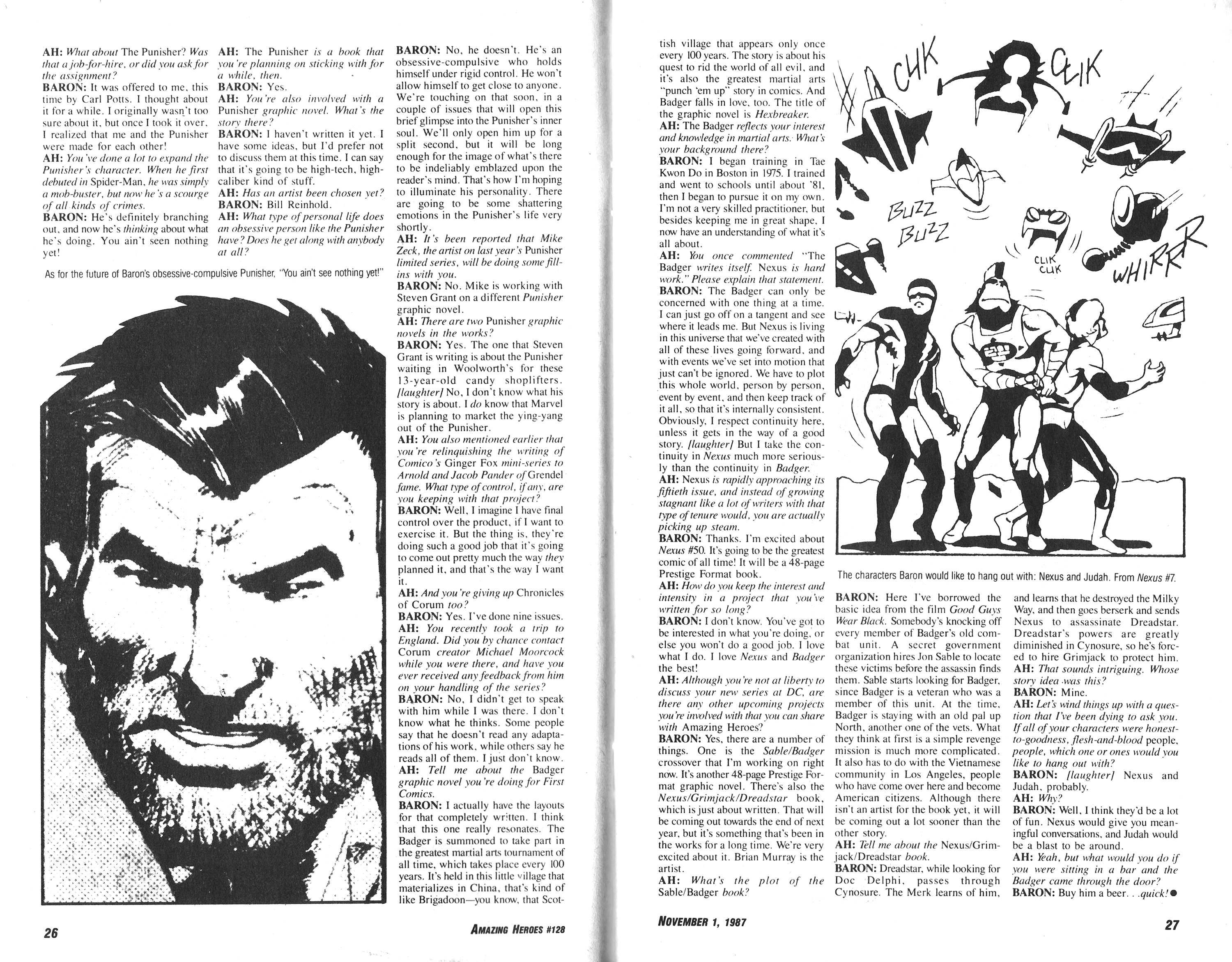Read online Amazing Heroes comic -  Issue #128 - 14