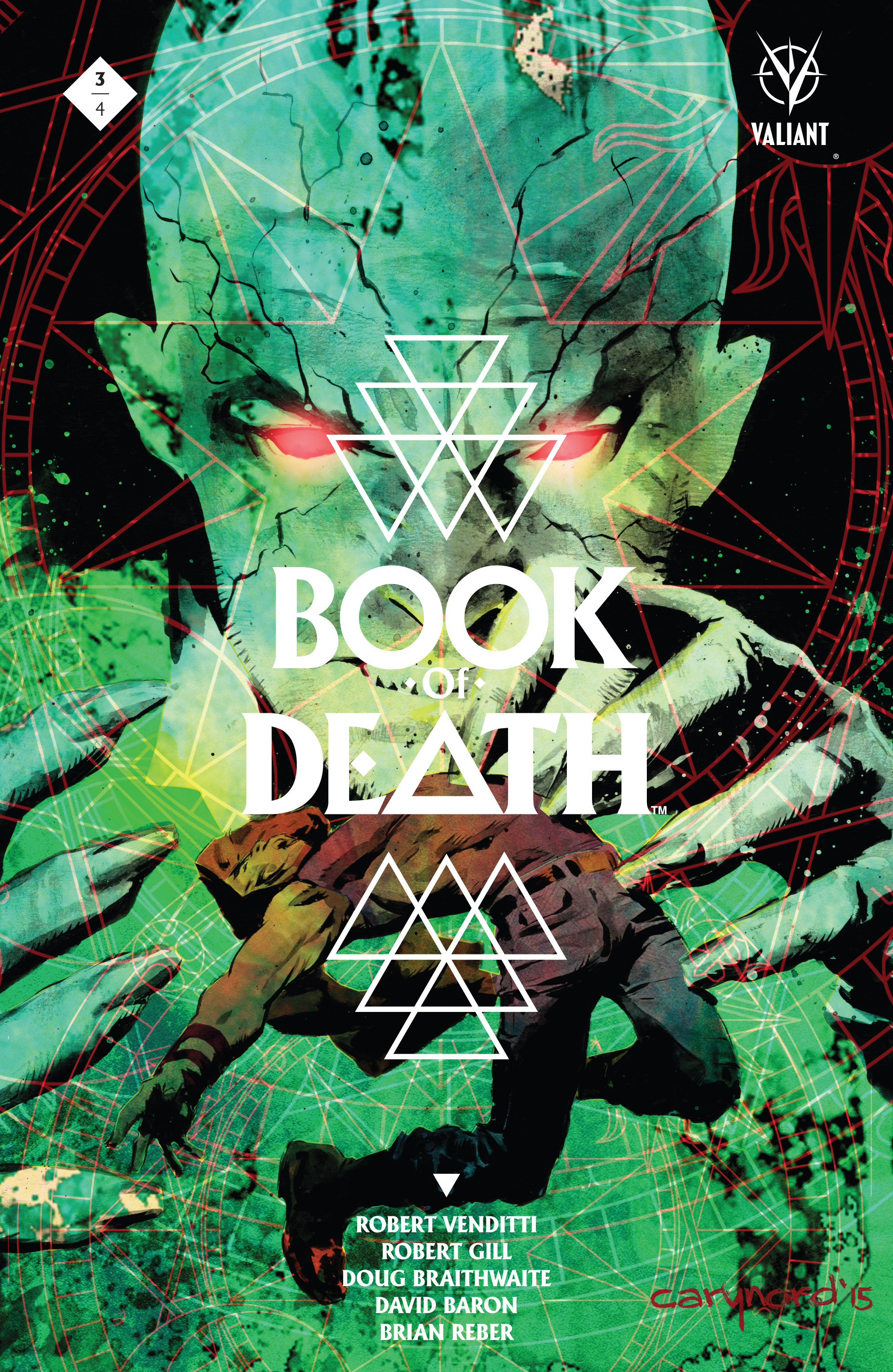 Book of Death Issue 3