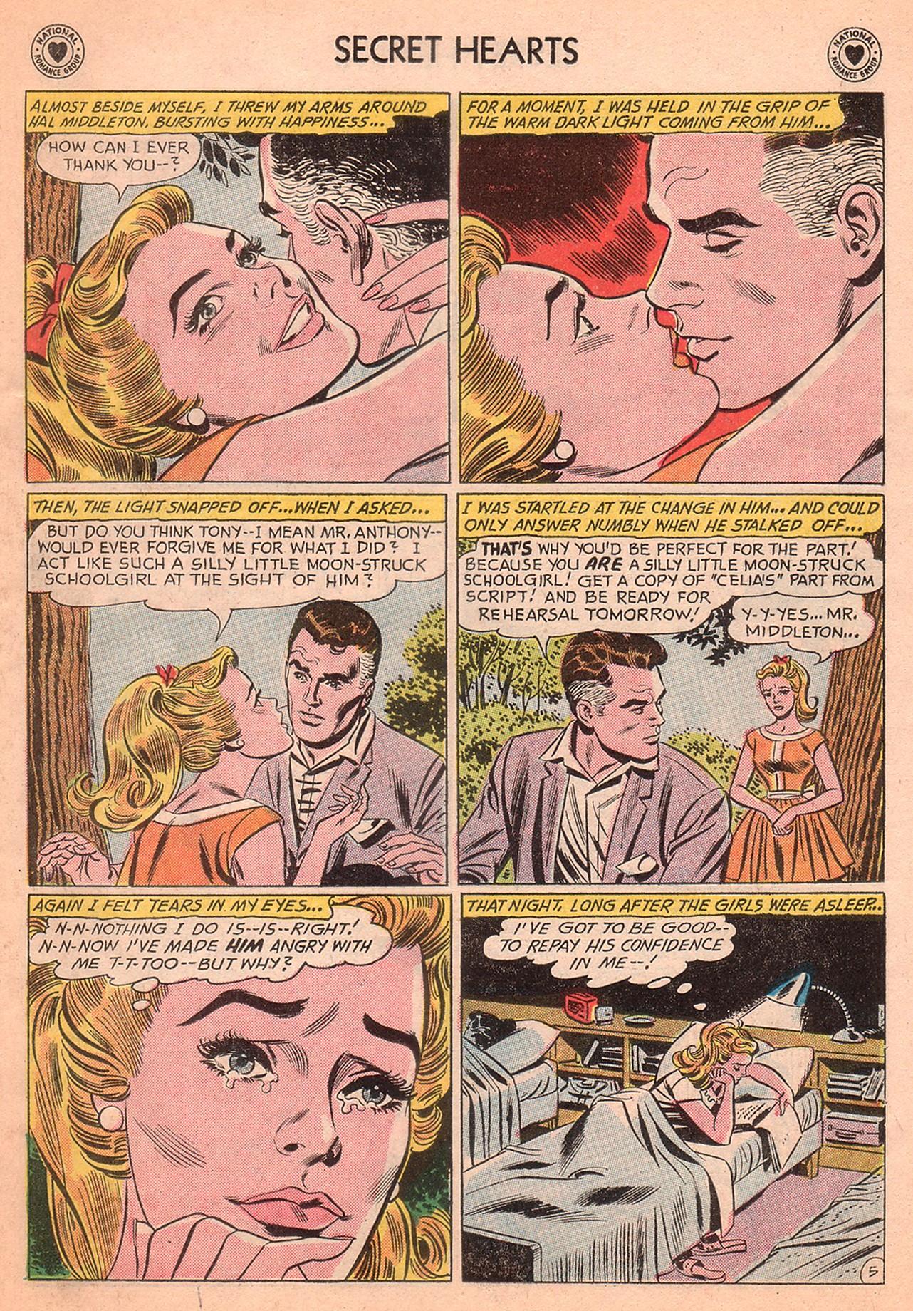 Read online Secret Hearts comic -  Issue #77 - 31