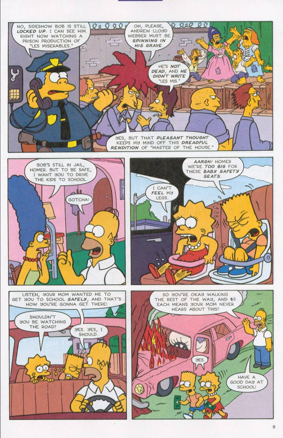 Read online Simpsons Comics comic -  Issue #71 - 10
