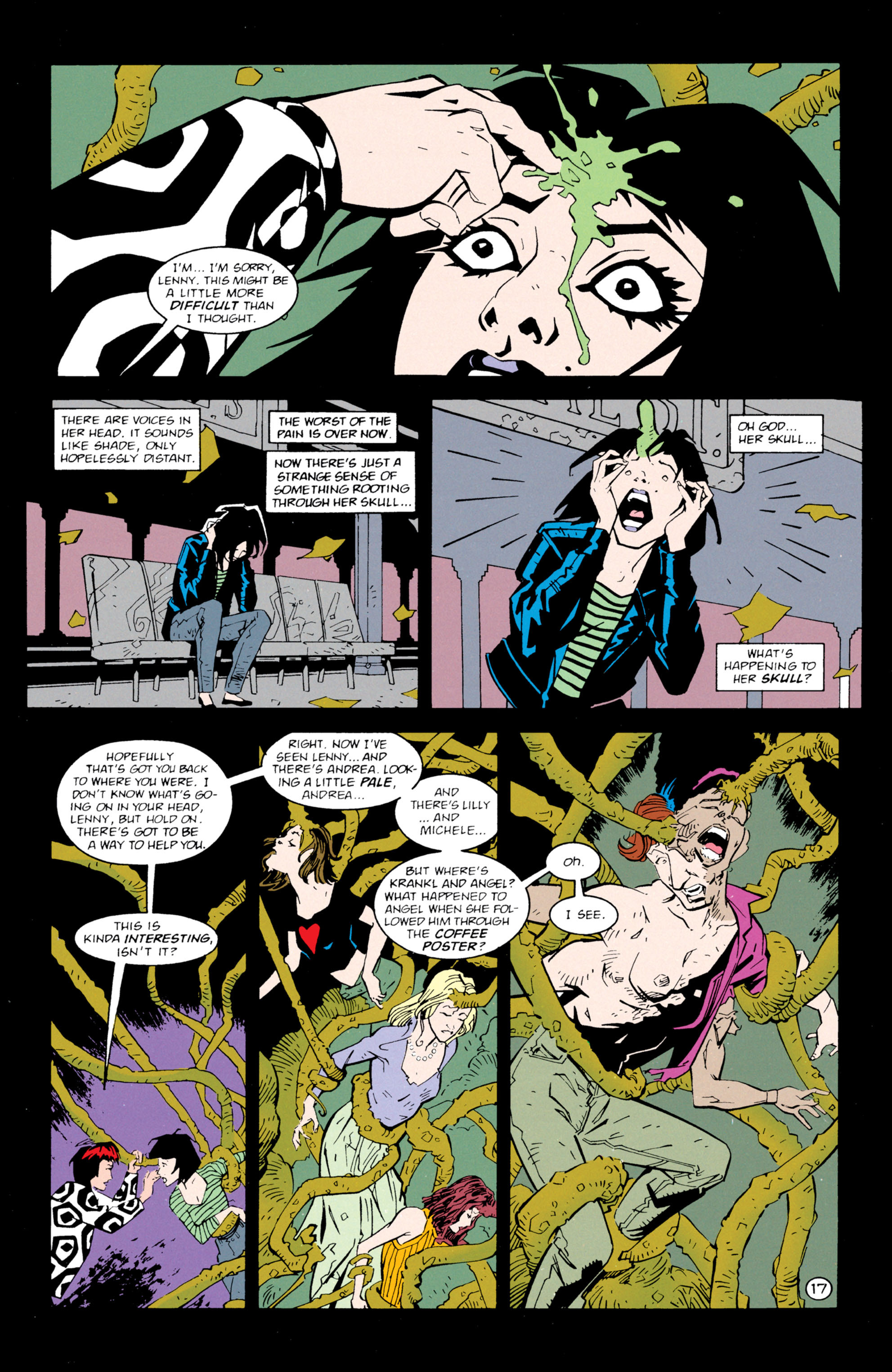 Read online Shade, the Changing Man comic -  Issue #61 - 18