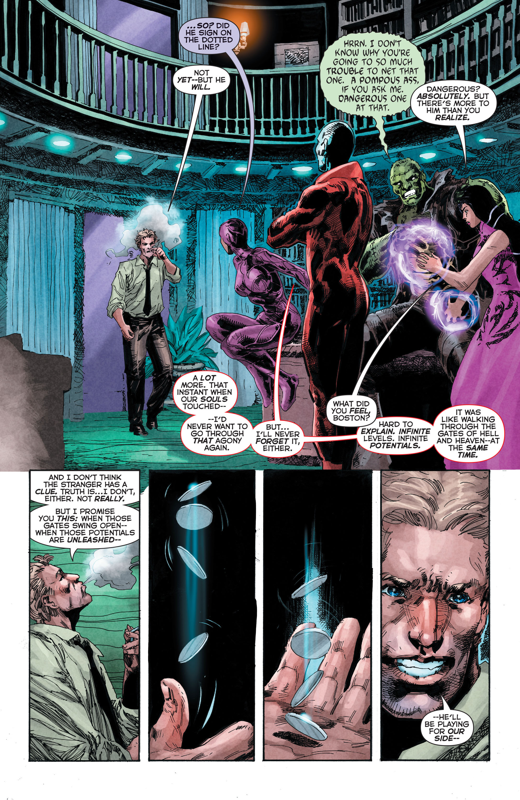 Read online Trinity of Sin: The Phantom Stranger comic -  Issue #4 - 16