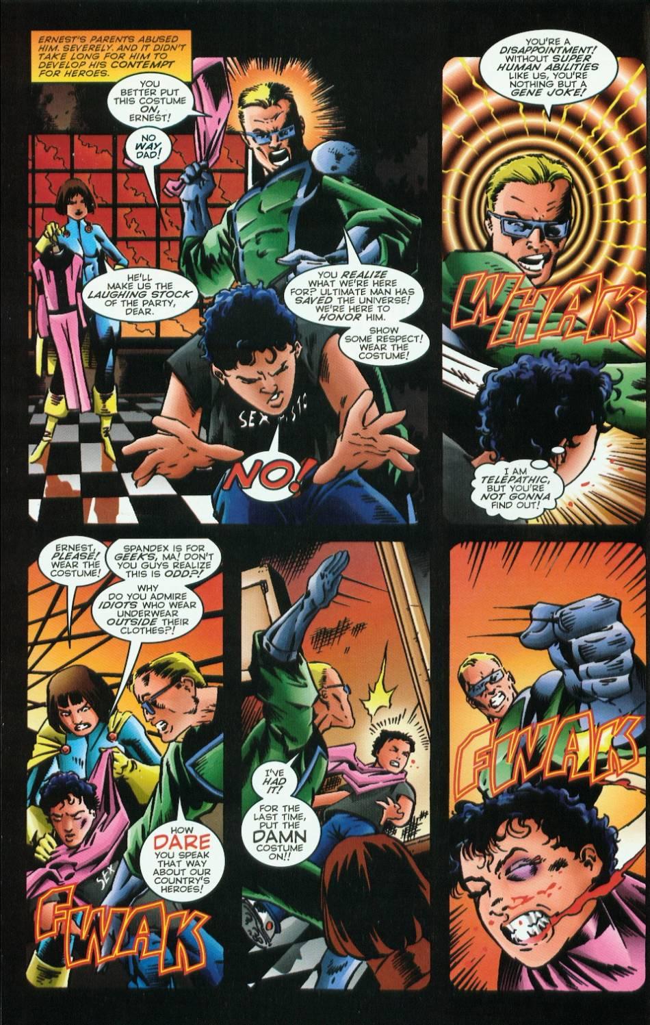 Read online Evil Ernie vs. the Superheroes comic -  Issue #1 - 6