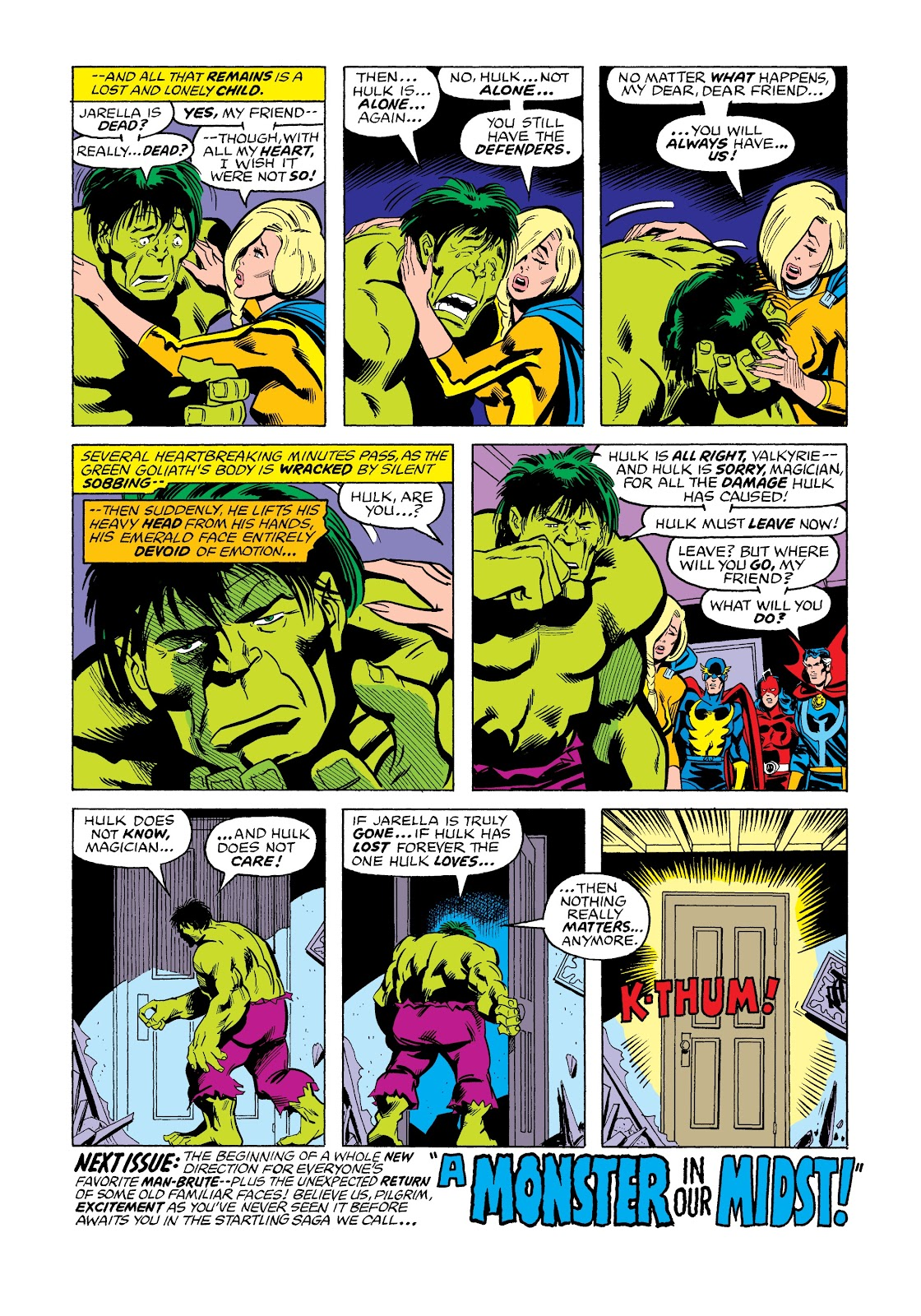 Read online Marvel Masterworks: The Incredible Hulk comic -  Issue # TPB 12 (Part 3) - 45