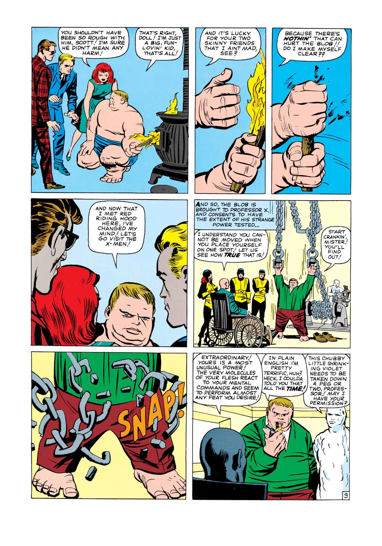 Read online Uncanny X-Men (1963) comic -  Issue #3 - 10