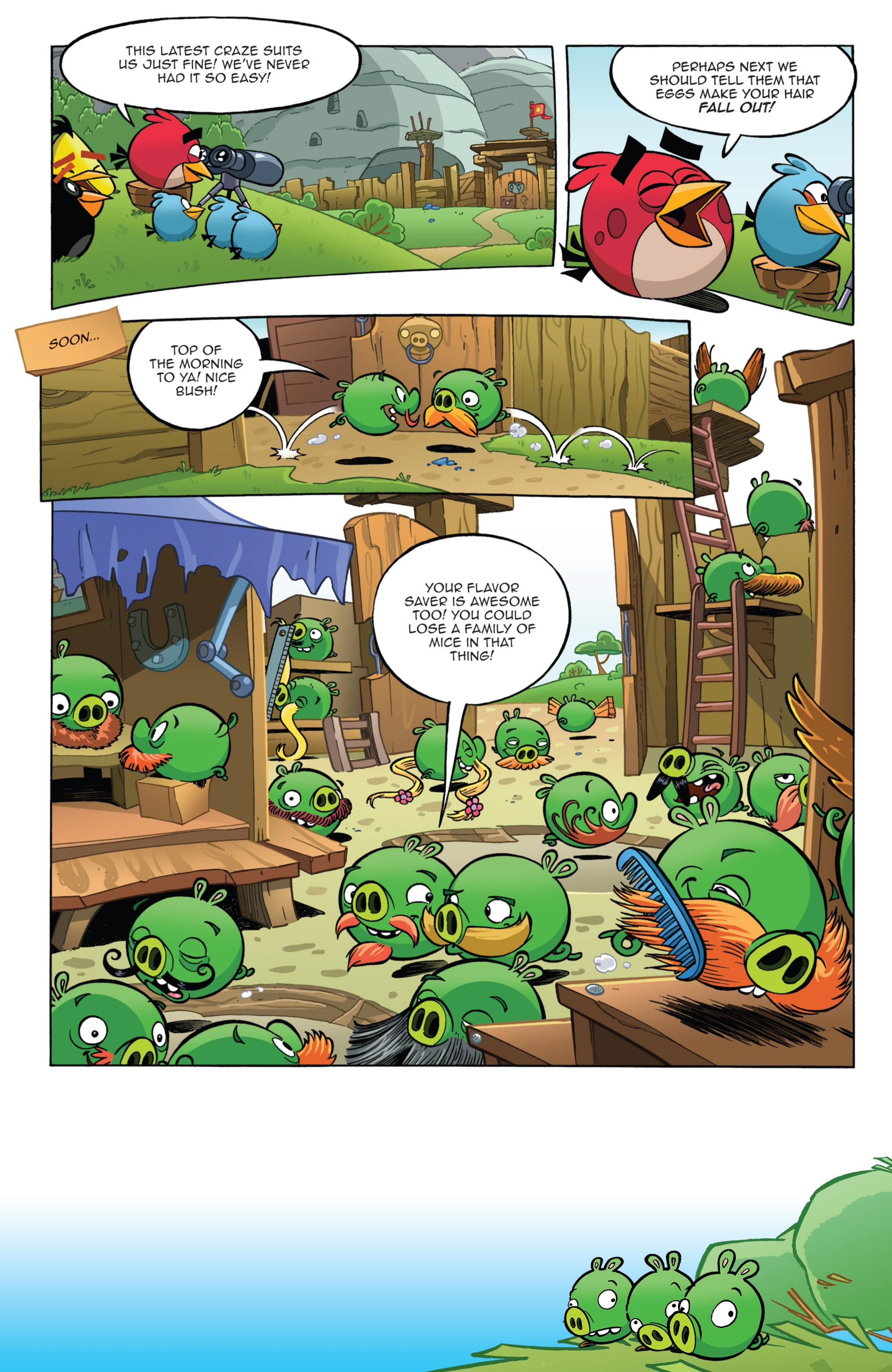 Read online Angry Birds Comics (2014) comic -  Issue #11 - 7