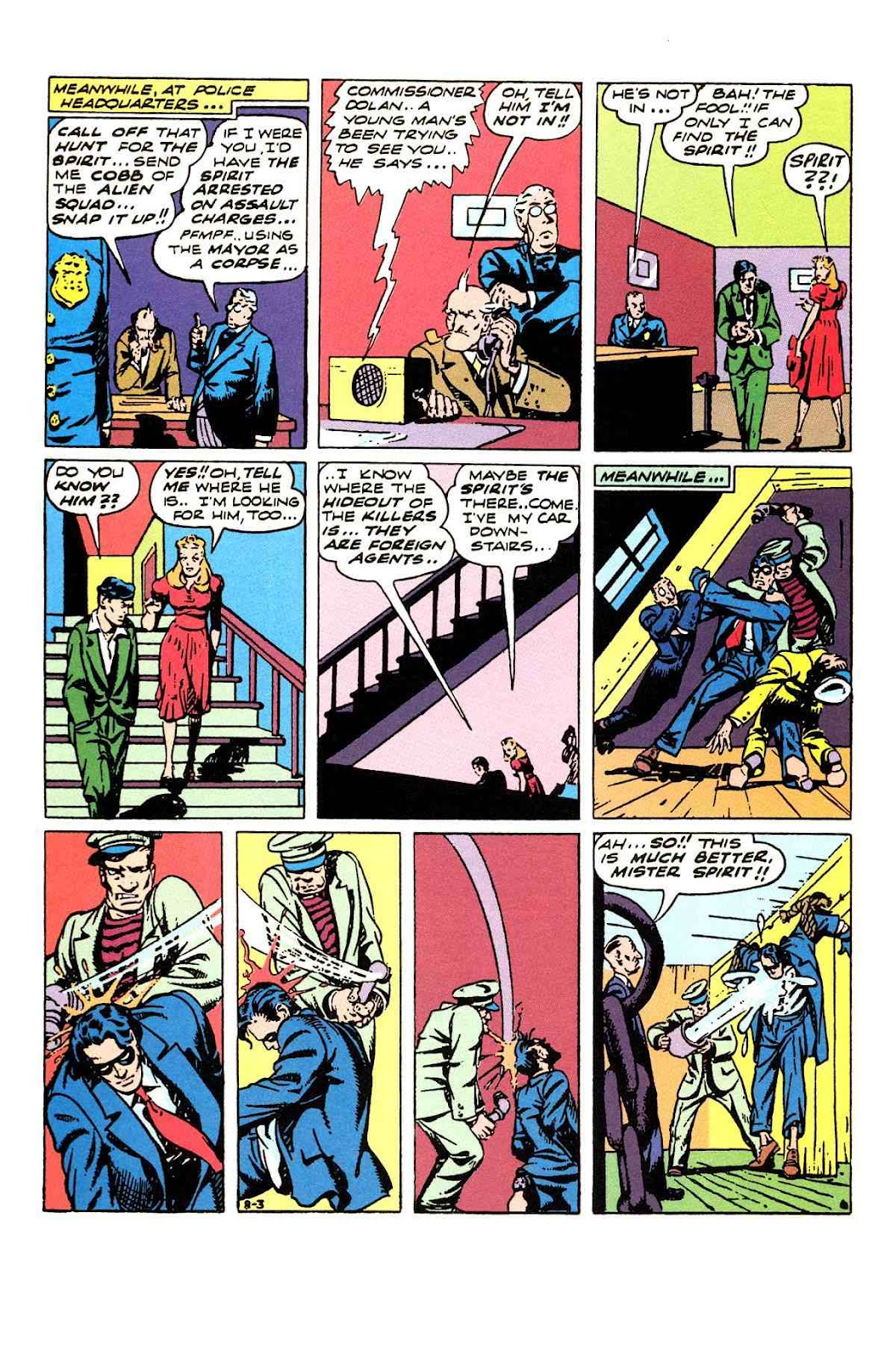 Read online Will Eisner's The Spirit Archives comic -  Issue # TPB 3 (Part 1) - 39