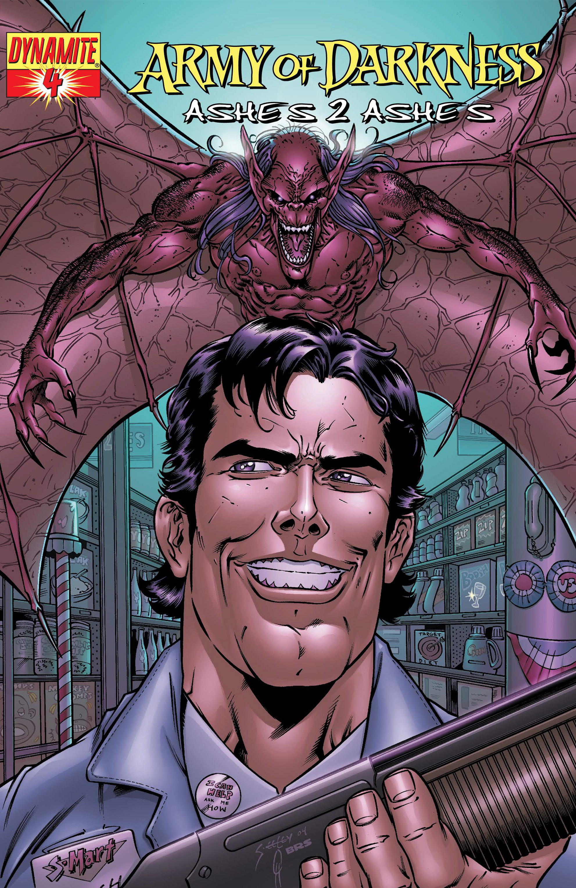 Read online Army of Darkness: Ashes 2 Ashes comic -  Issue #4 - 3