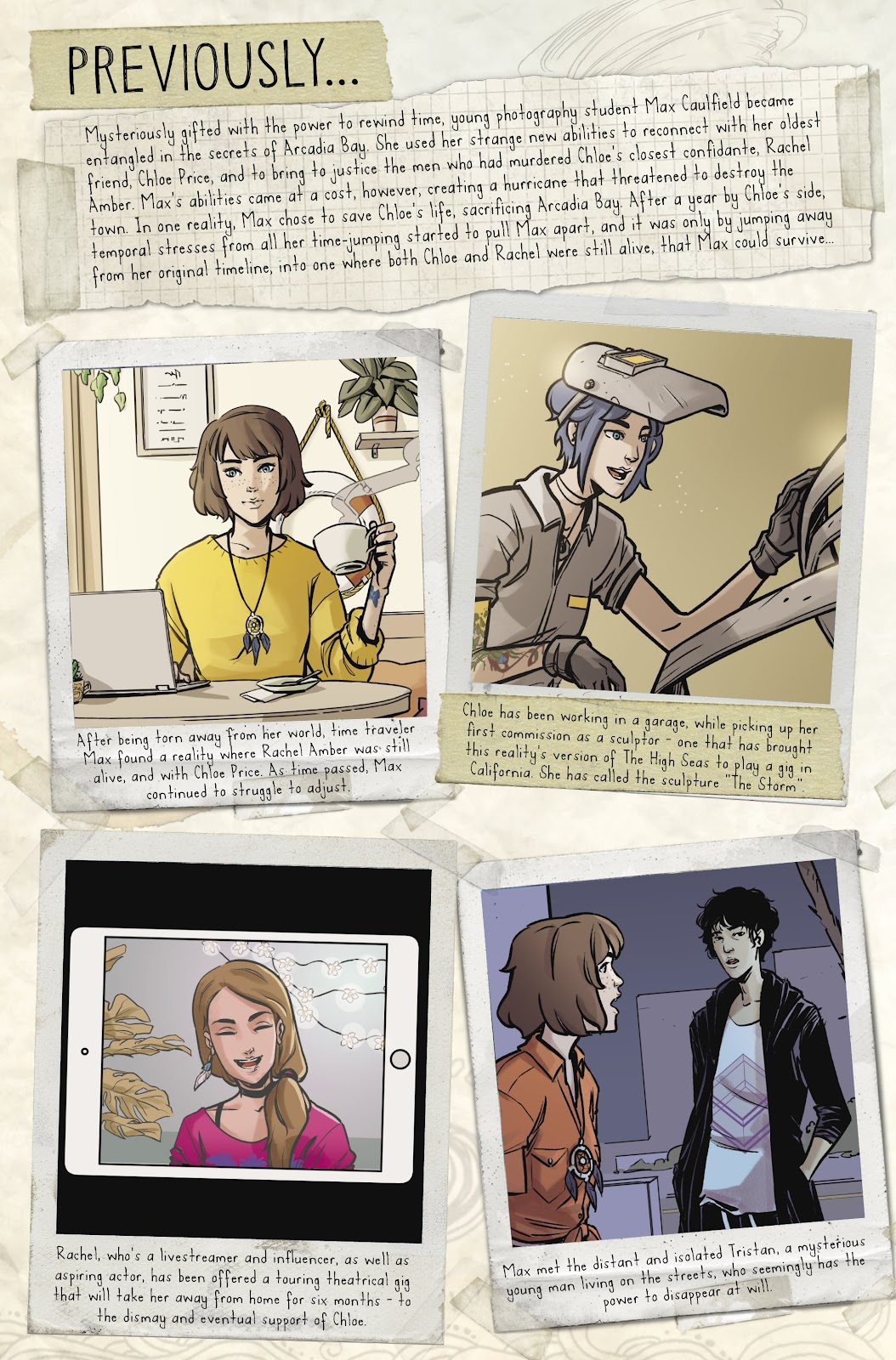 Read online Life is Strange comic -  Issue #9 - 7