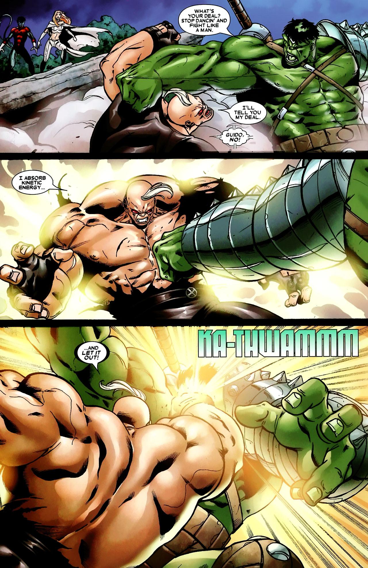 Read online World War Hulk: X-Men comic -  Issue #3 - 8