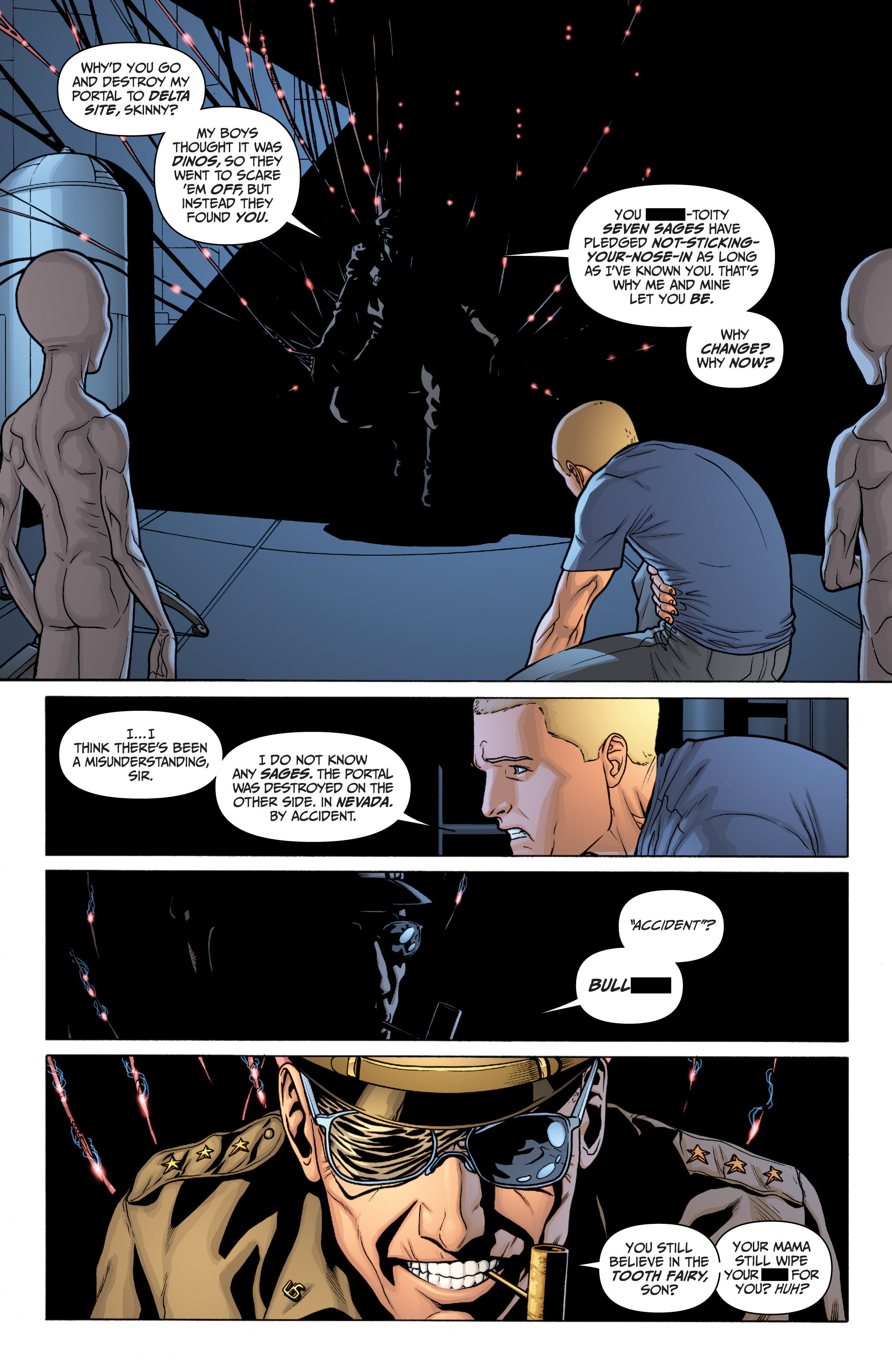 Read online Archer and Armstrong comic -  Issue #11 - 12