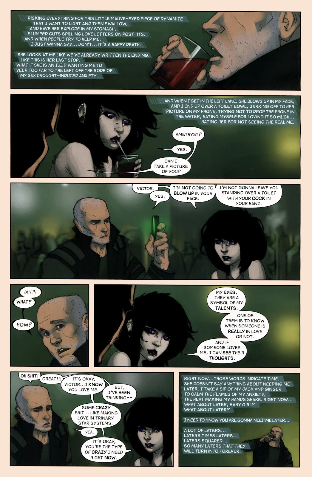Read online Vescell comic -  Issue #7 - 13