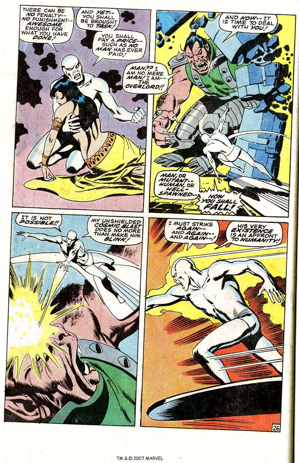 Read online Silver Surfer (1968) comic -  Issue #6 - 32