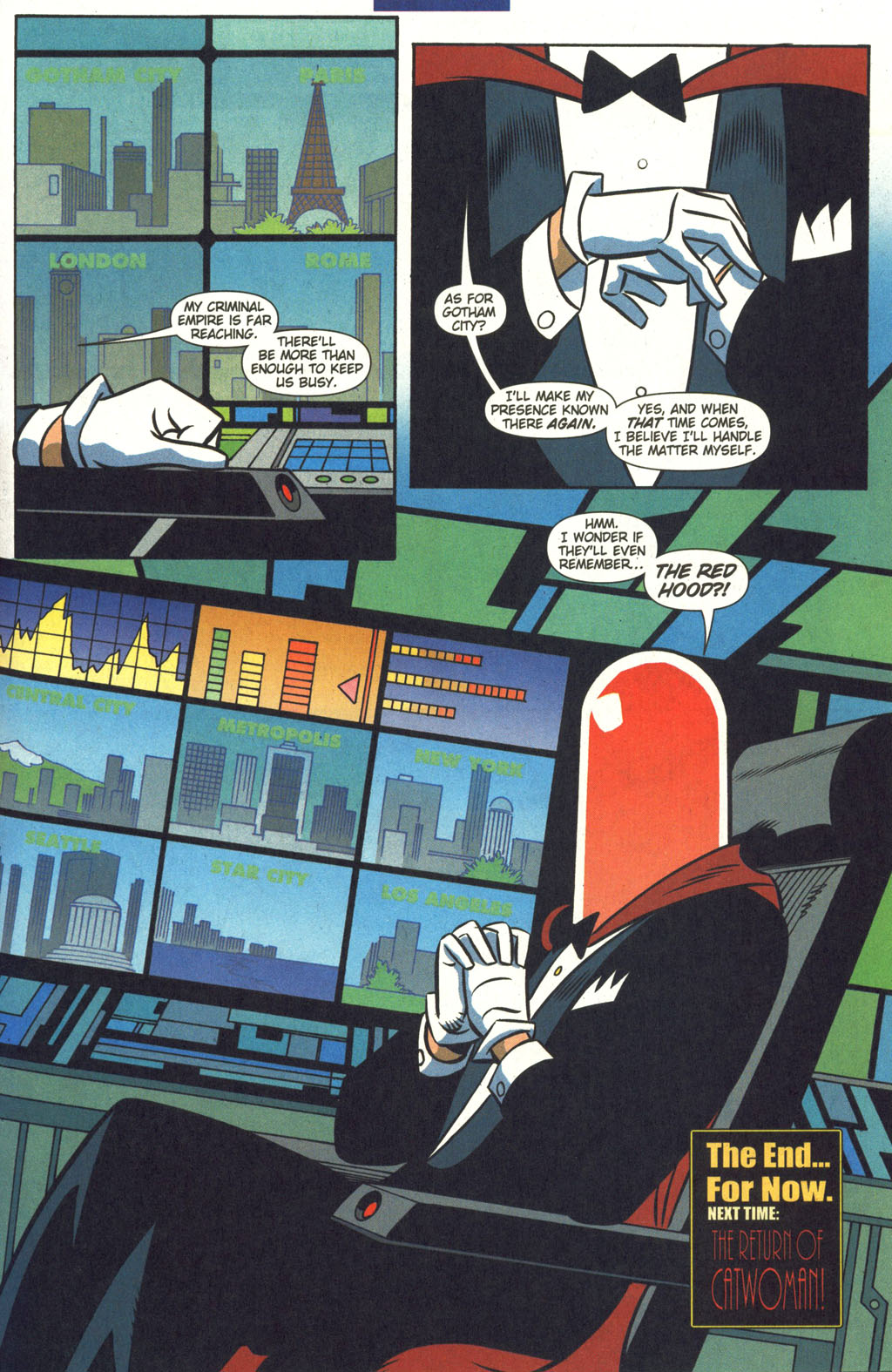 read online batman adventures 2003 comic issue 8