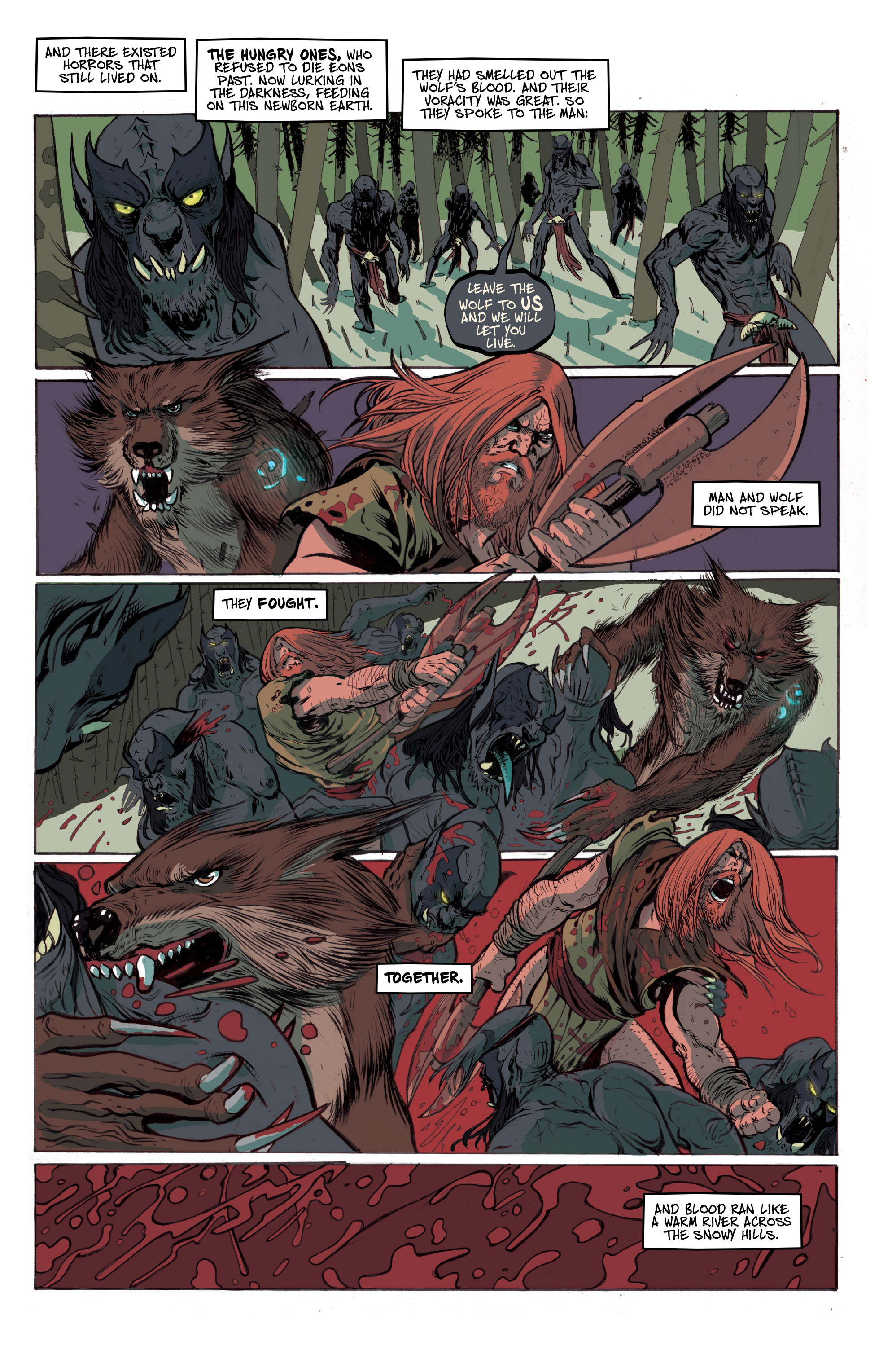 Read online Ghost Wolf comic -  Issue #1 - 6