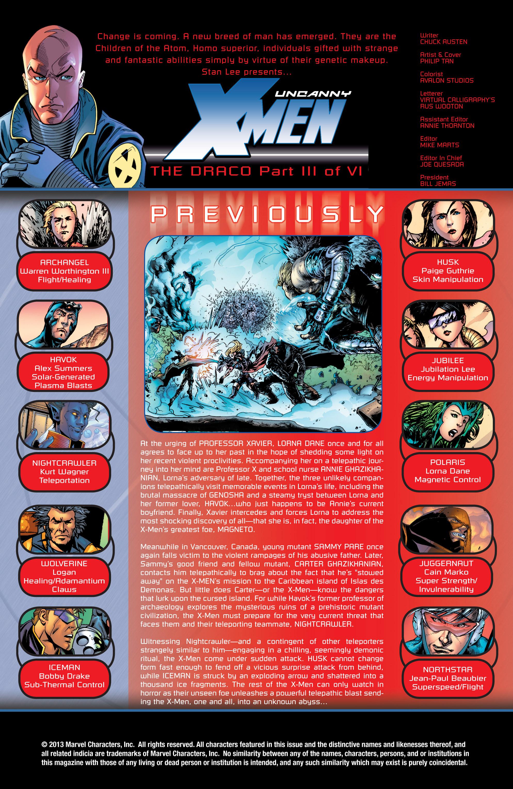 Read online Uncanny X-Men (1963) comic -  Issue #431 - 2