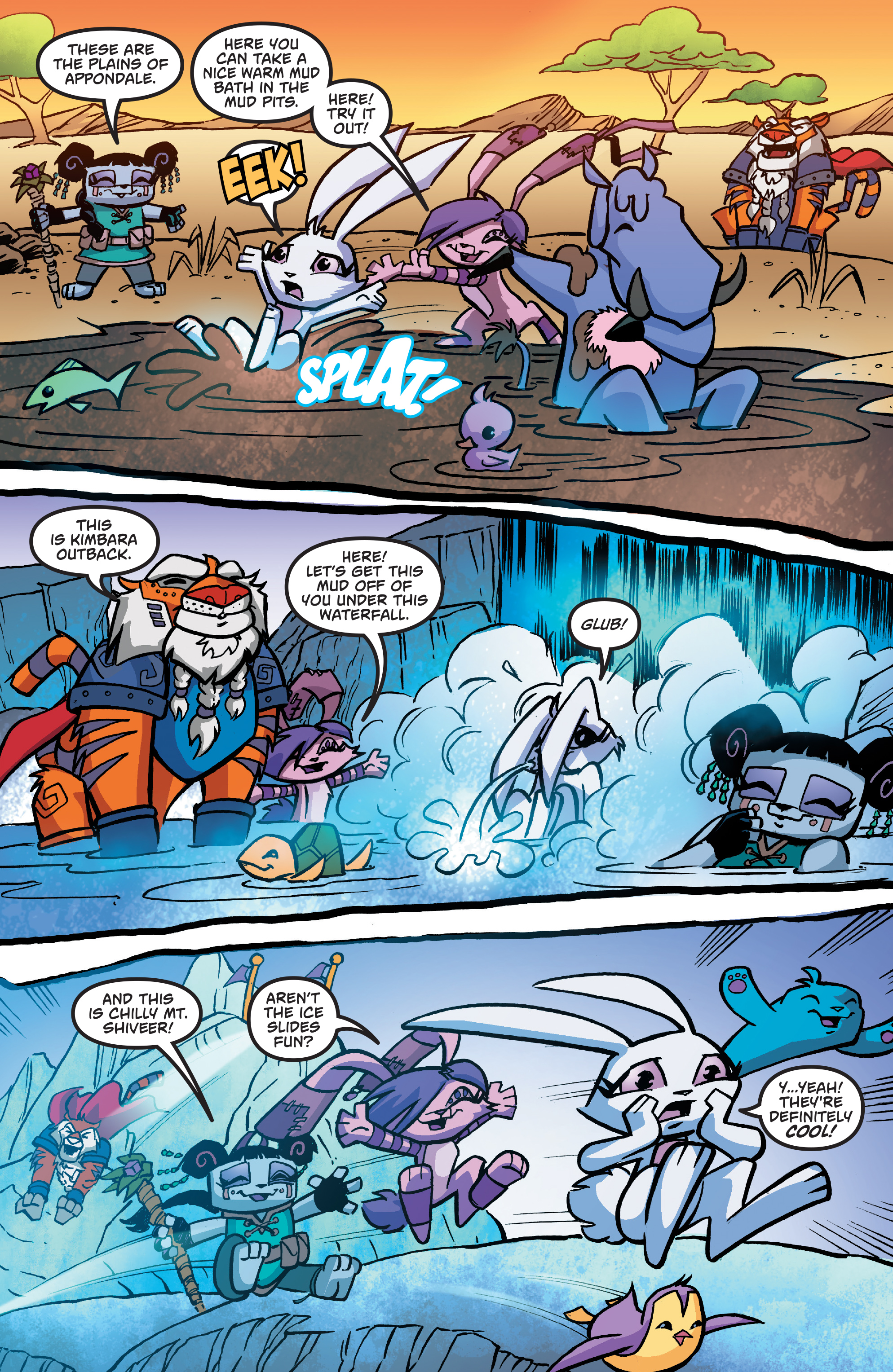 Read online Free Comic Book Day 2017 comic -  Issue # Animal Jam - 12