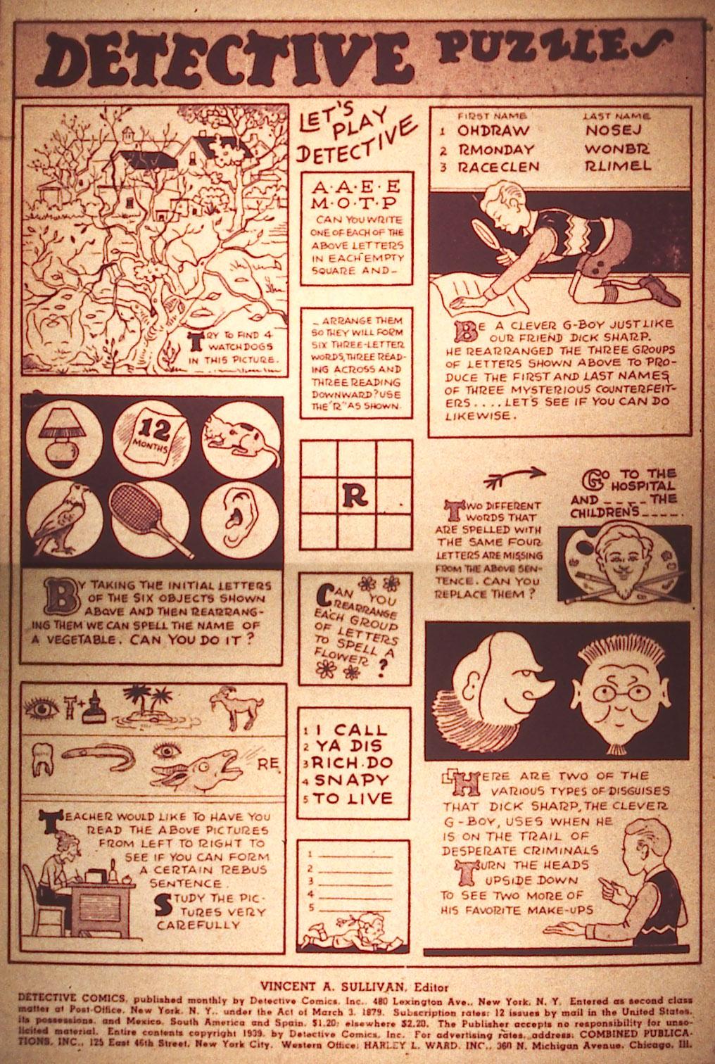 Read online Detective Comics (1937) comic -  Issue #25 - 2