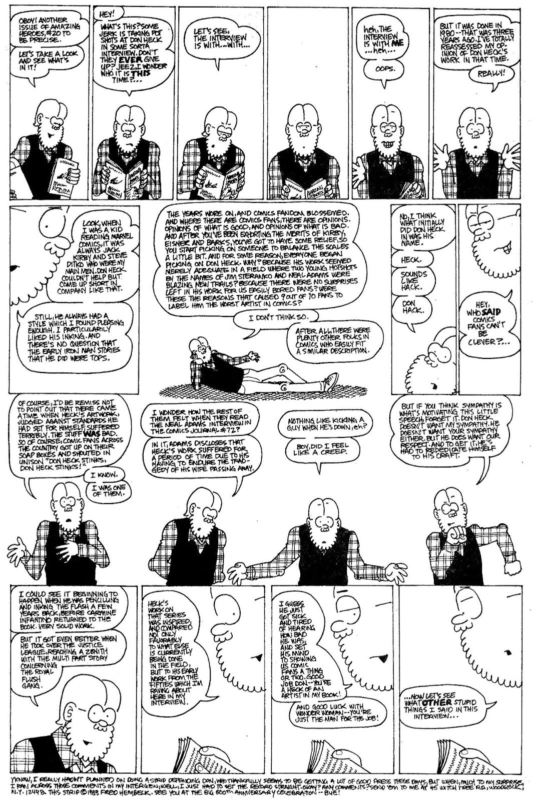 Read online The Nearly Complete Essential Hembeck Archives Omnibus comic -  Issue # TPB (Part 4) - 61