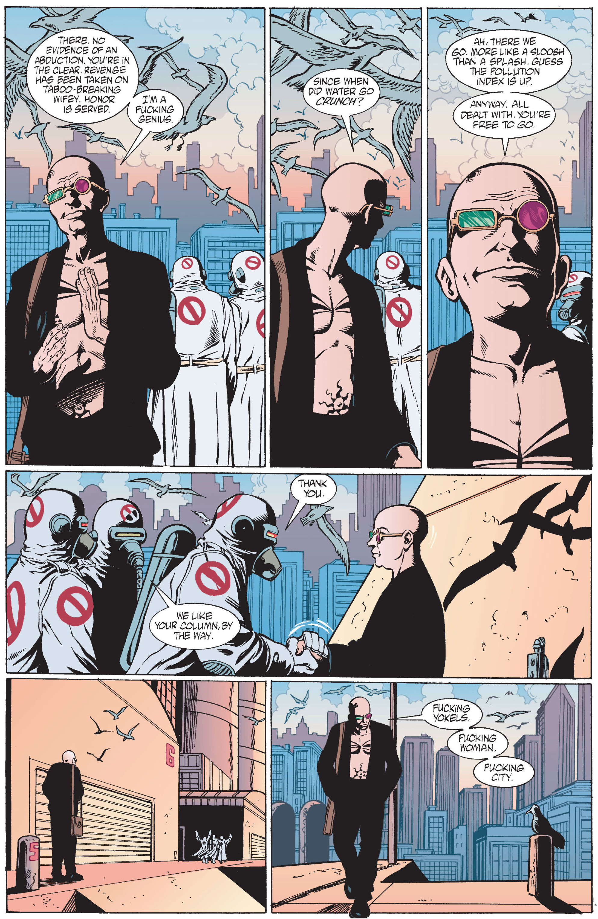 Read online Transmetropolitan comic -  Issue #12 - 20