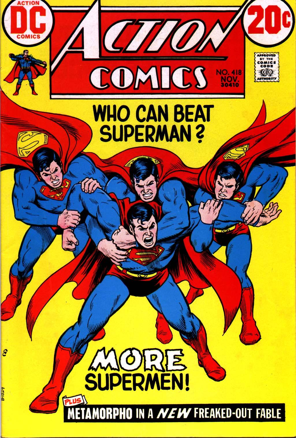 Action Comics (1938) 418 Page 1
