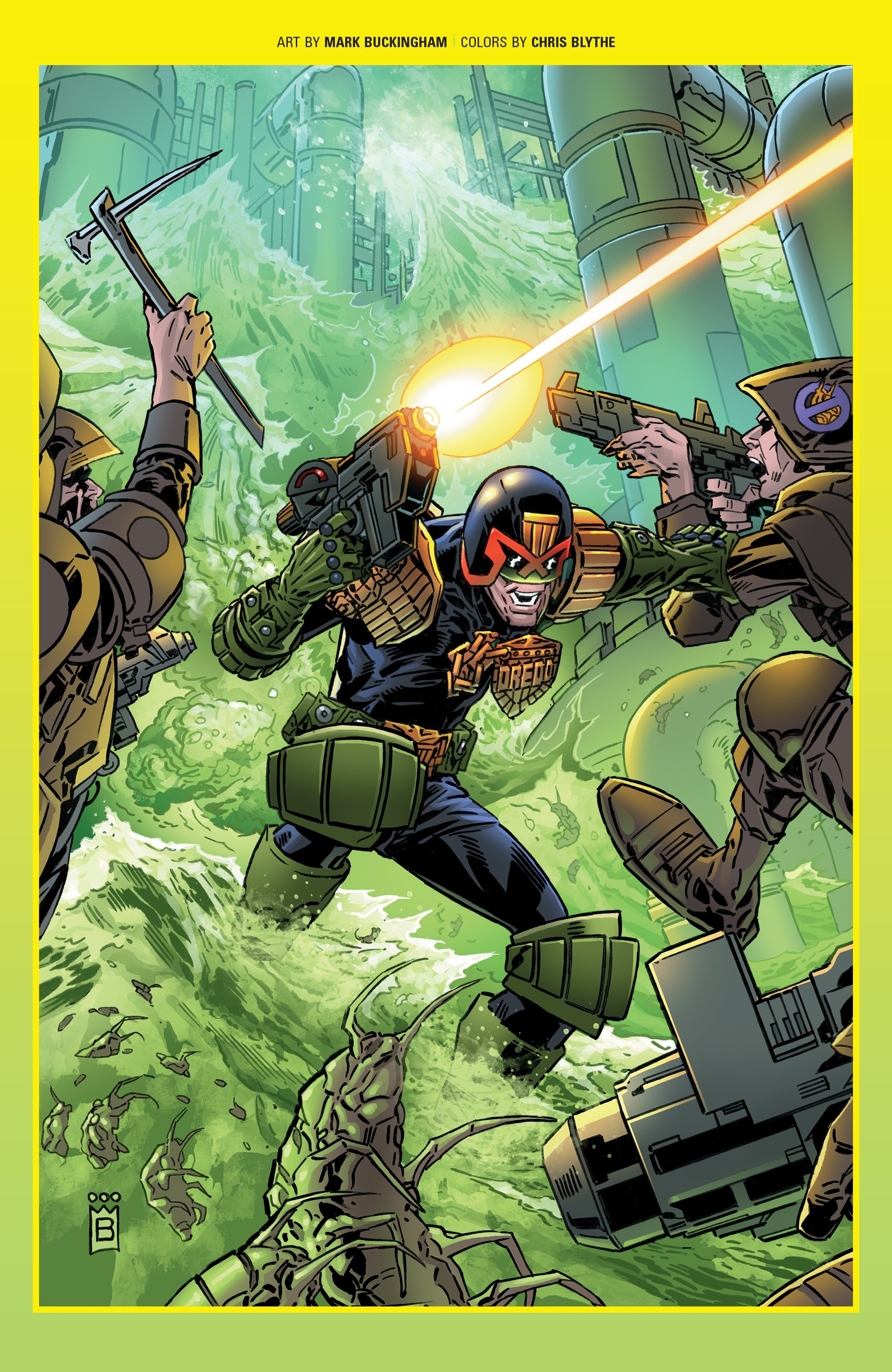 Judge Dredd: Toxic #4 #4 - English 24