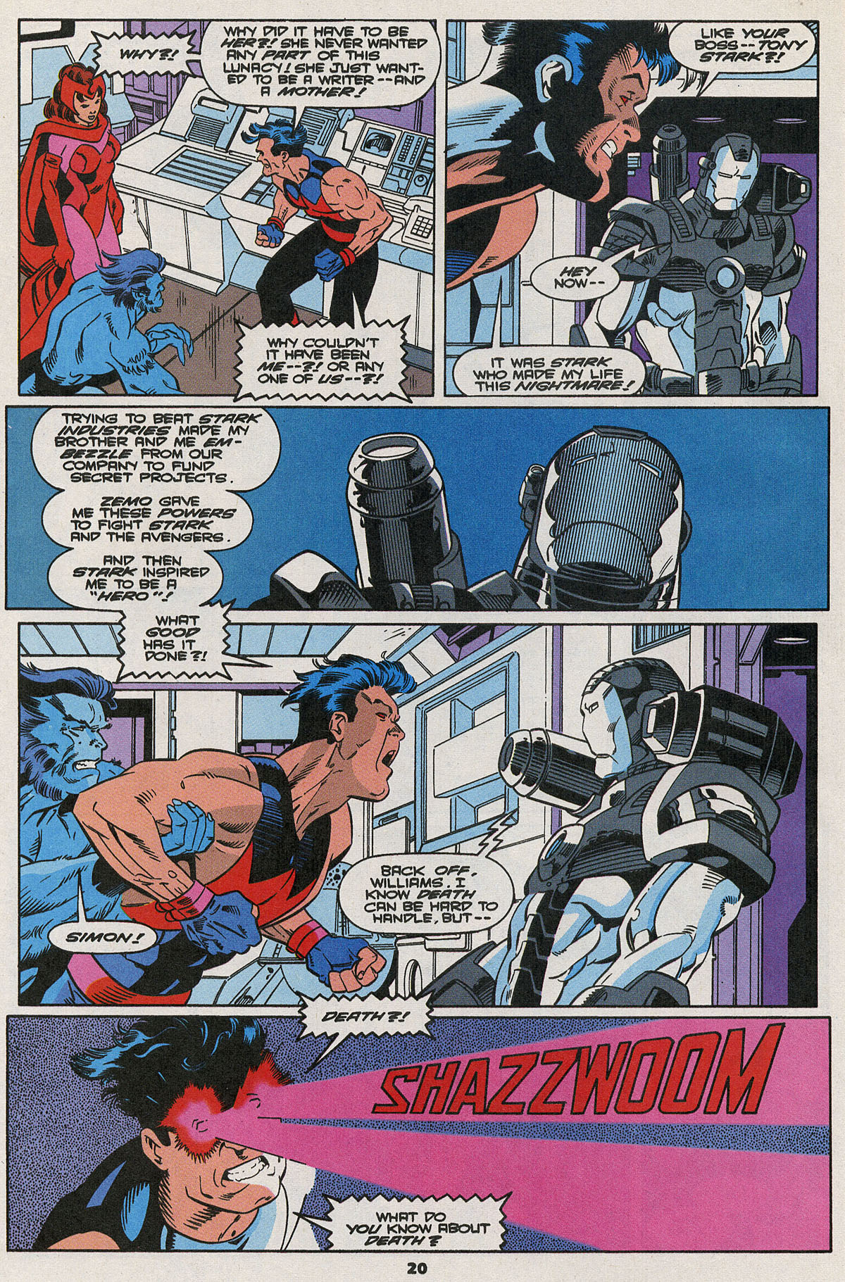 Read online Wonder Man (1991) comic -  Issue #23 - 16