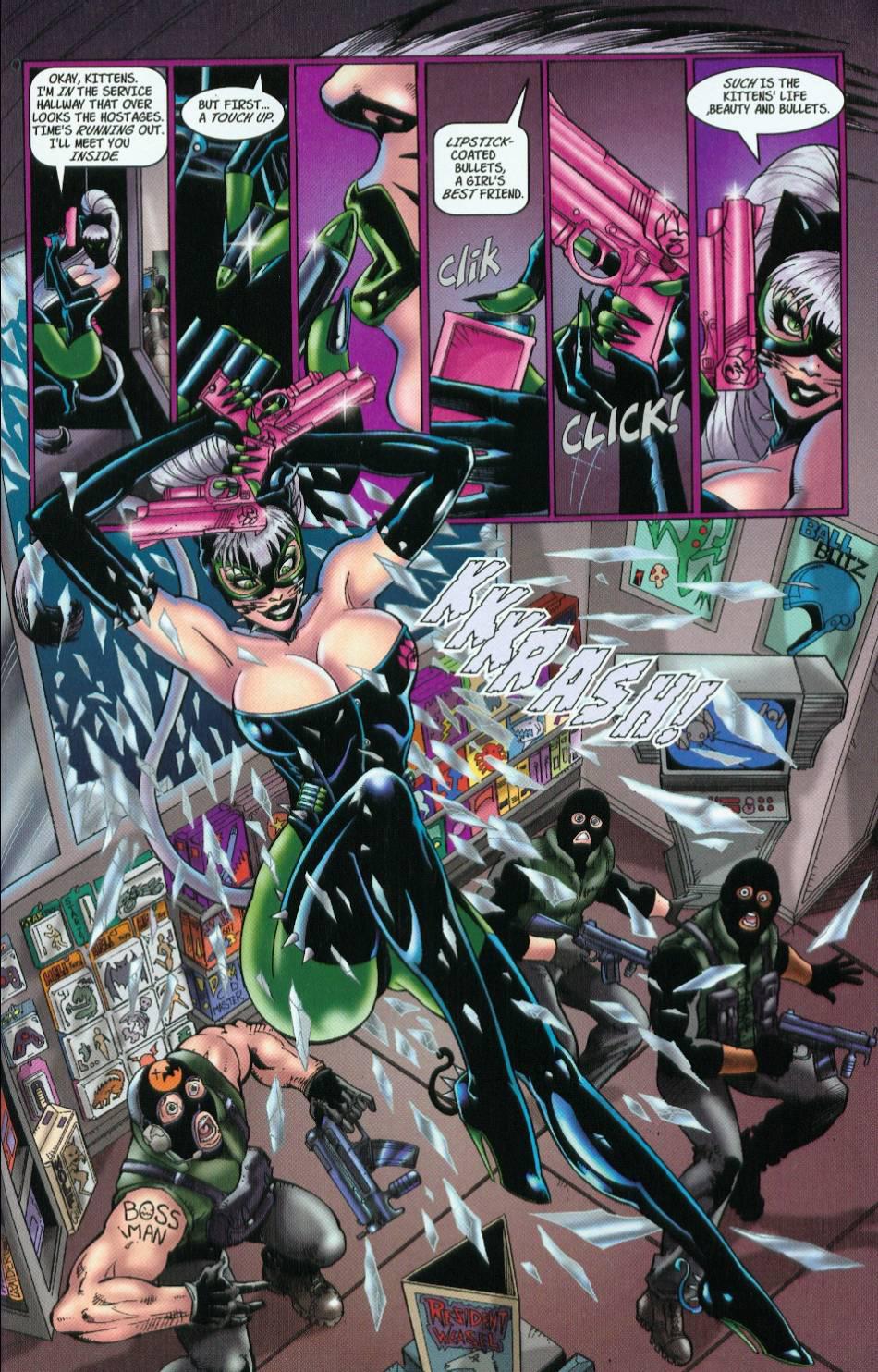 Read online 3 Little Kittens: Purrr-fect Weapons comic -  Issue #1 - 13