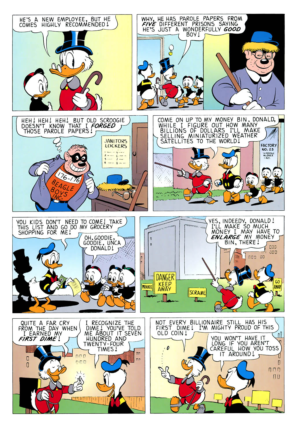 Read online Uncle Scrooge (1953) comic -  Issue #323 - 23