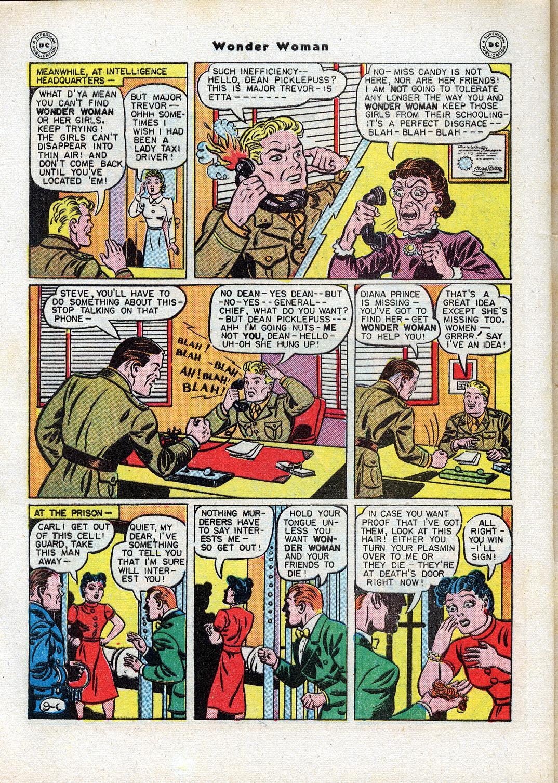 Read online Wonder Woman (1942) comic -  Issue #17 - 48
