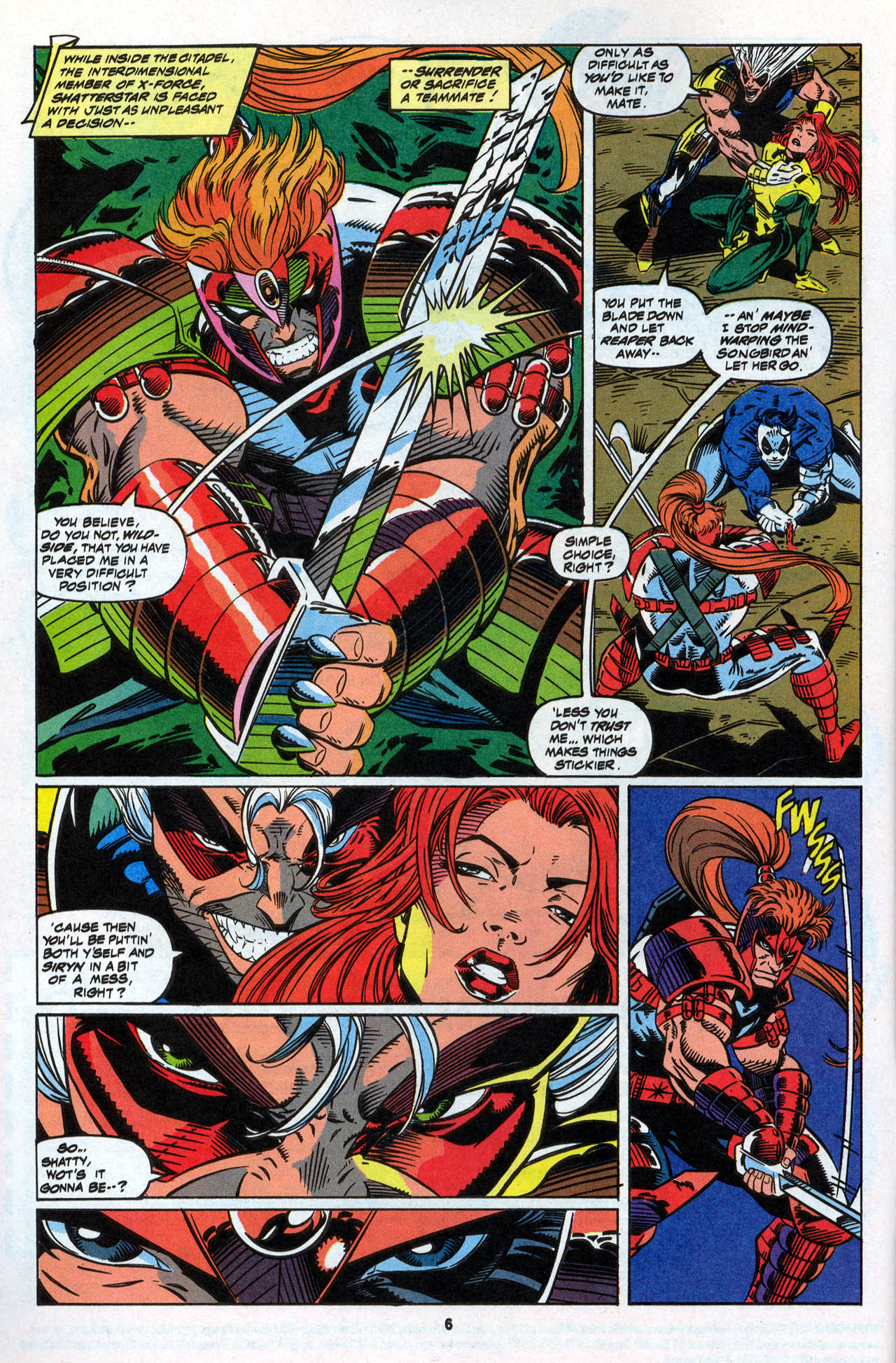 Read online X-Force (1991) comic -  Issue #28 - 8