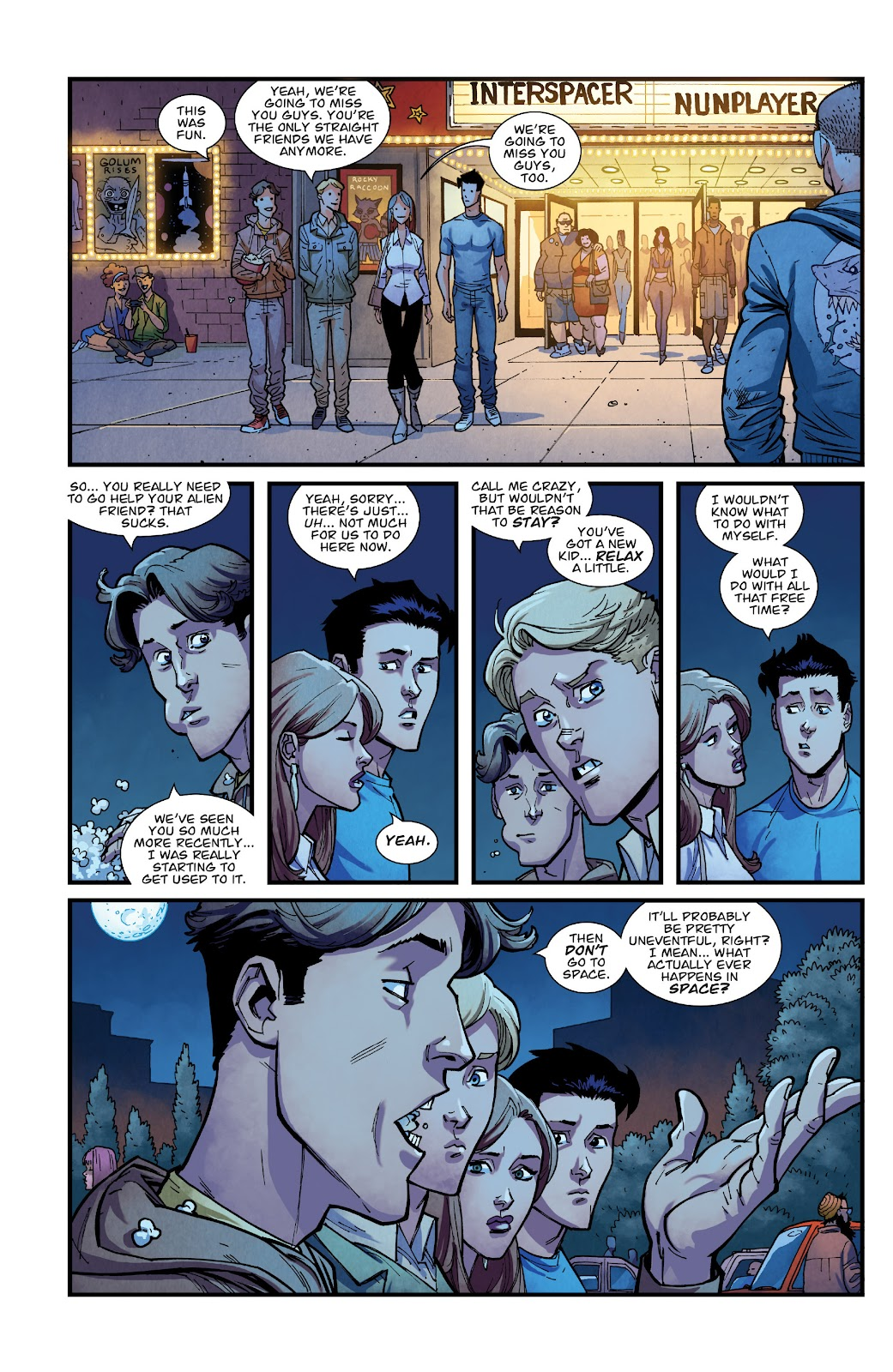 Invincible (2003) issue TPB 21 - Modern Family - Page 54