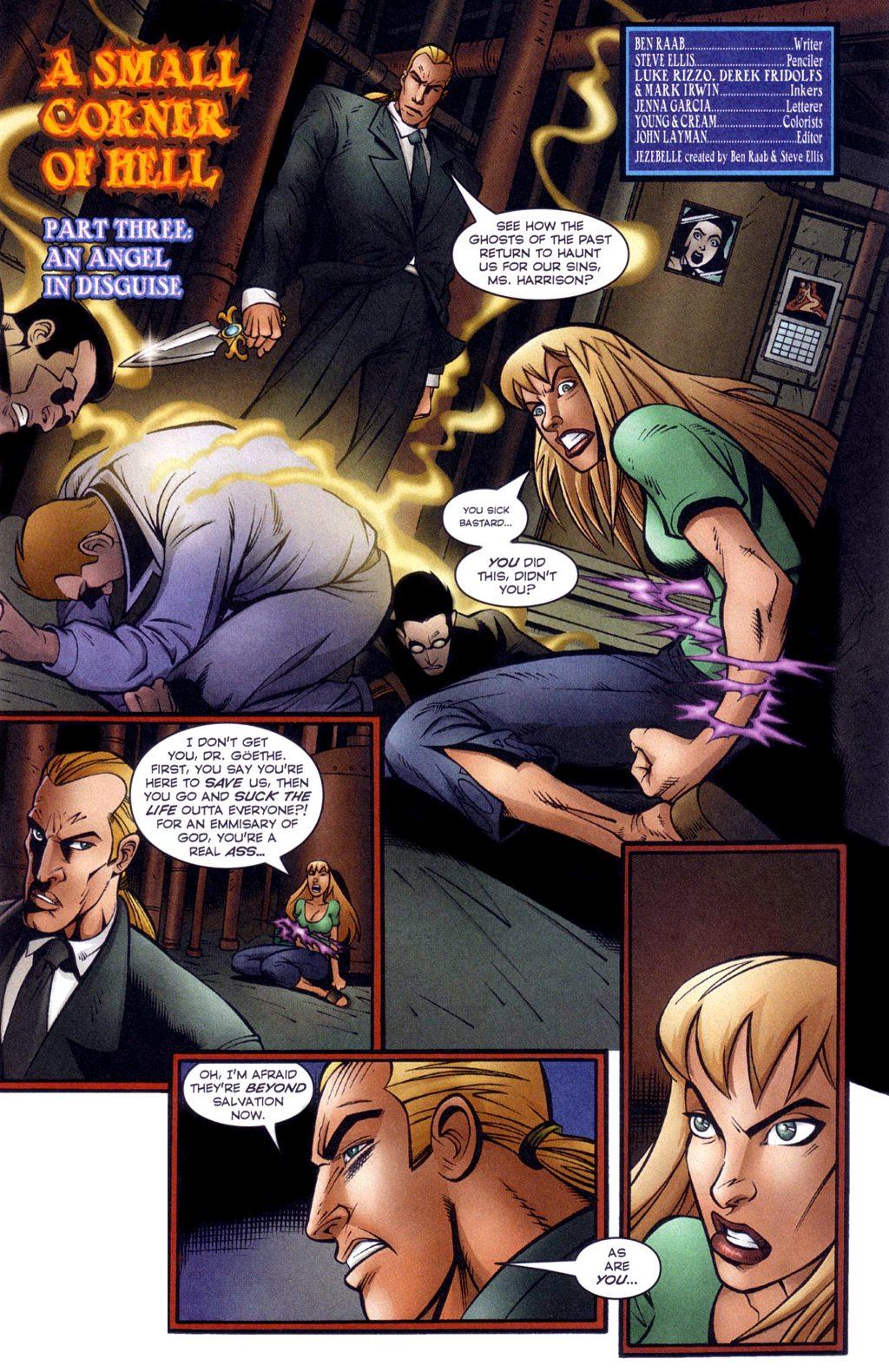 Read online Jezebelle comic -  Issue #3 - 4